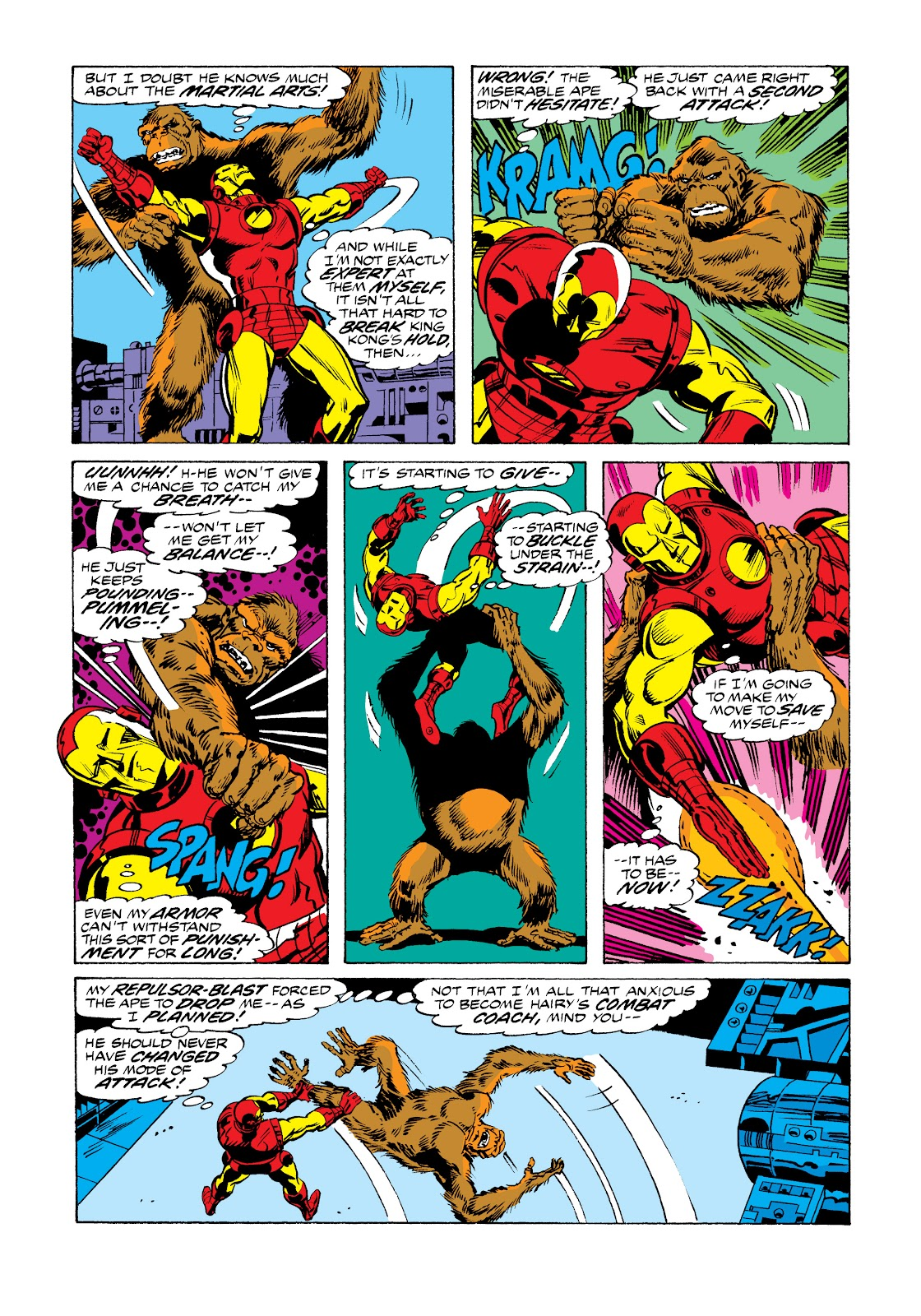 Read online Marvel Masterworks: The Invincible Iron Man comic -  Issue # TPB 11 (Part 1) - 43
