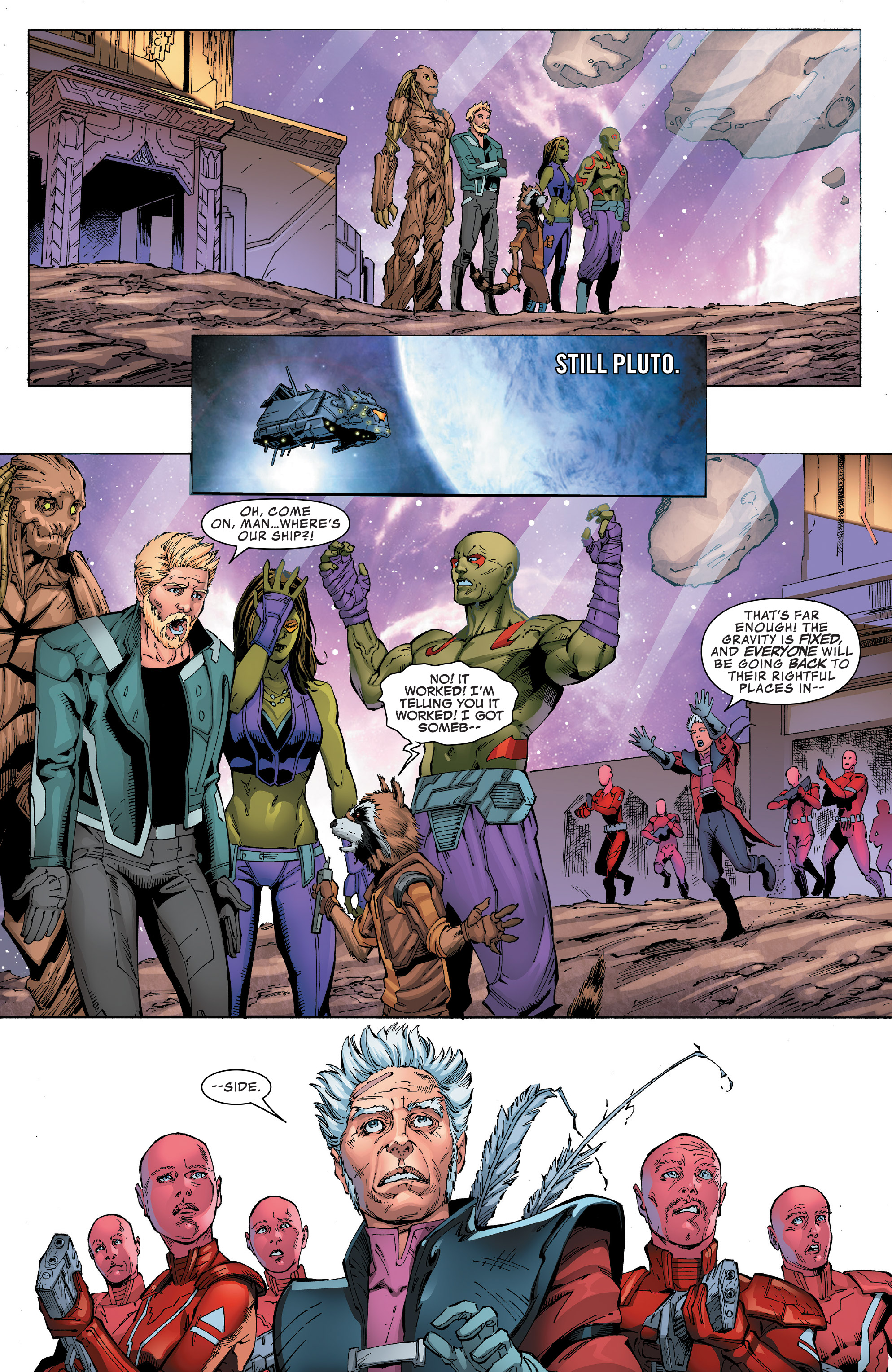Read online Guardians of the Galaxy: Mission Breakout comic -  Issue # Full - 28