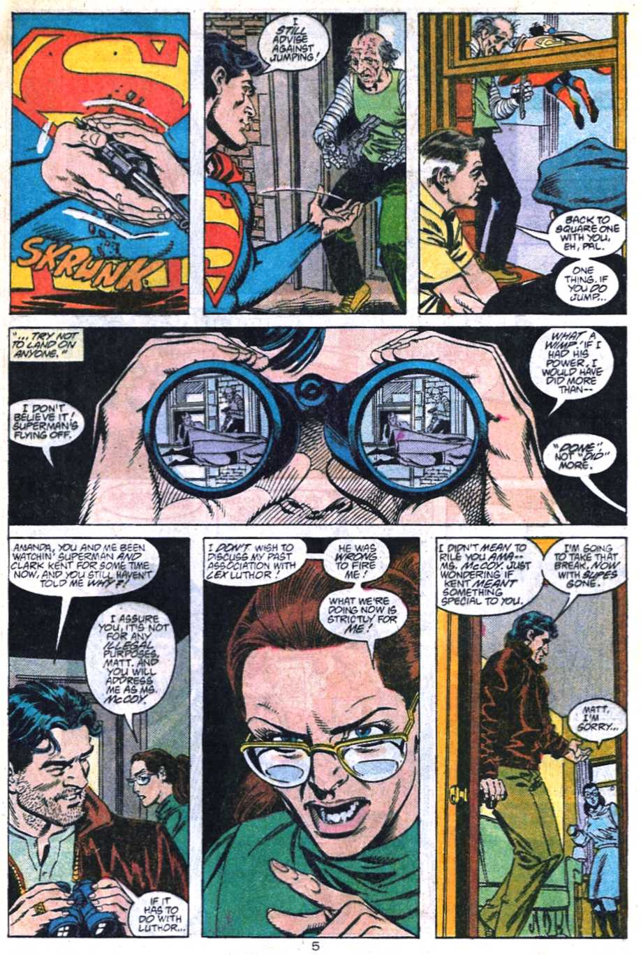 Read online Adventures of Superman (1987) comic -  Issue #448 - 6