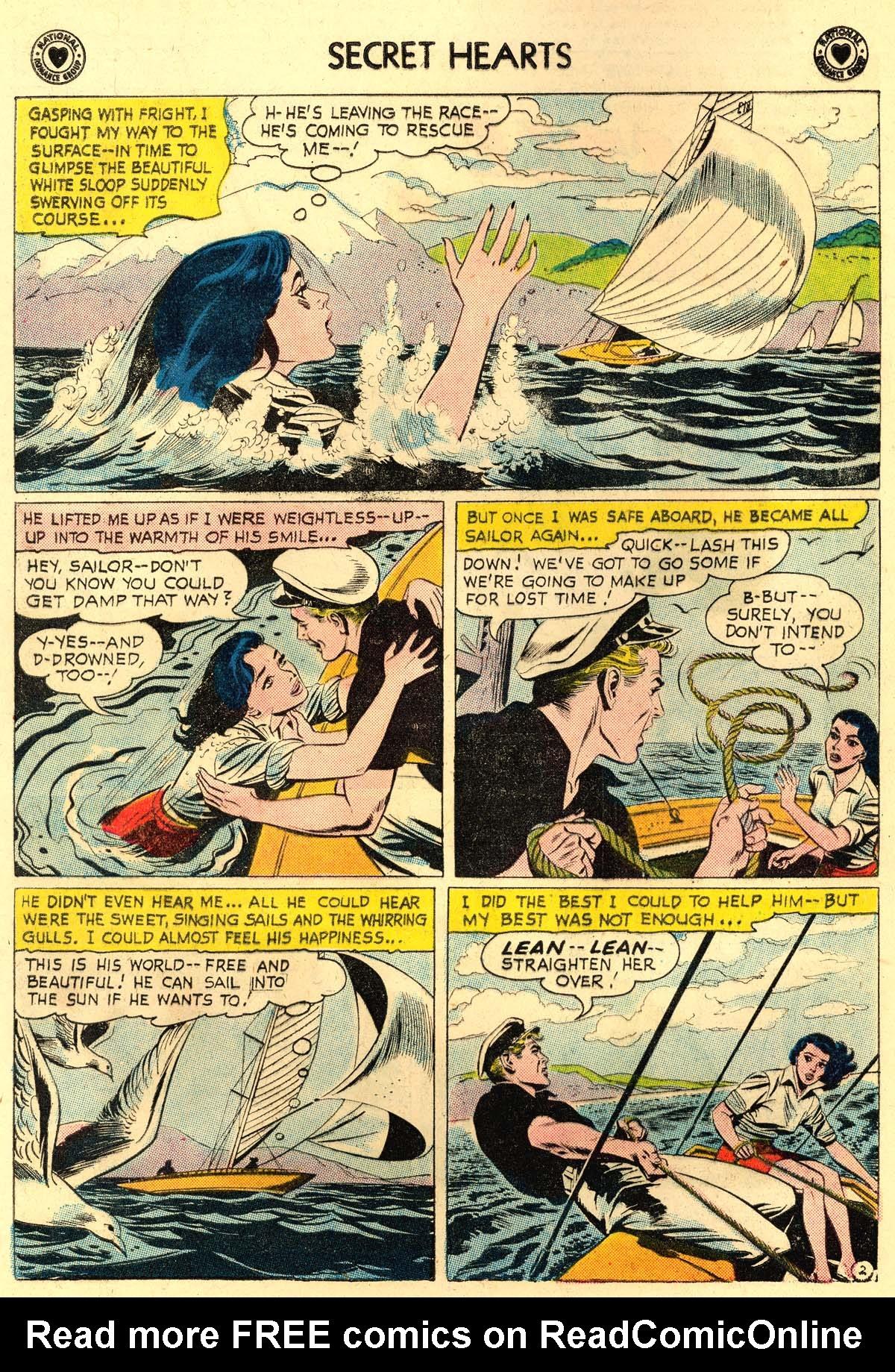 Read online Secret Hearts comic -  Issue #56 - 4