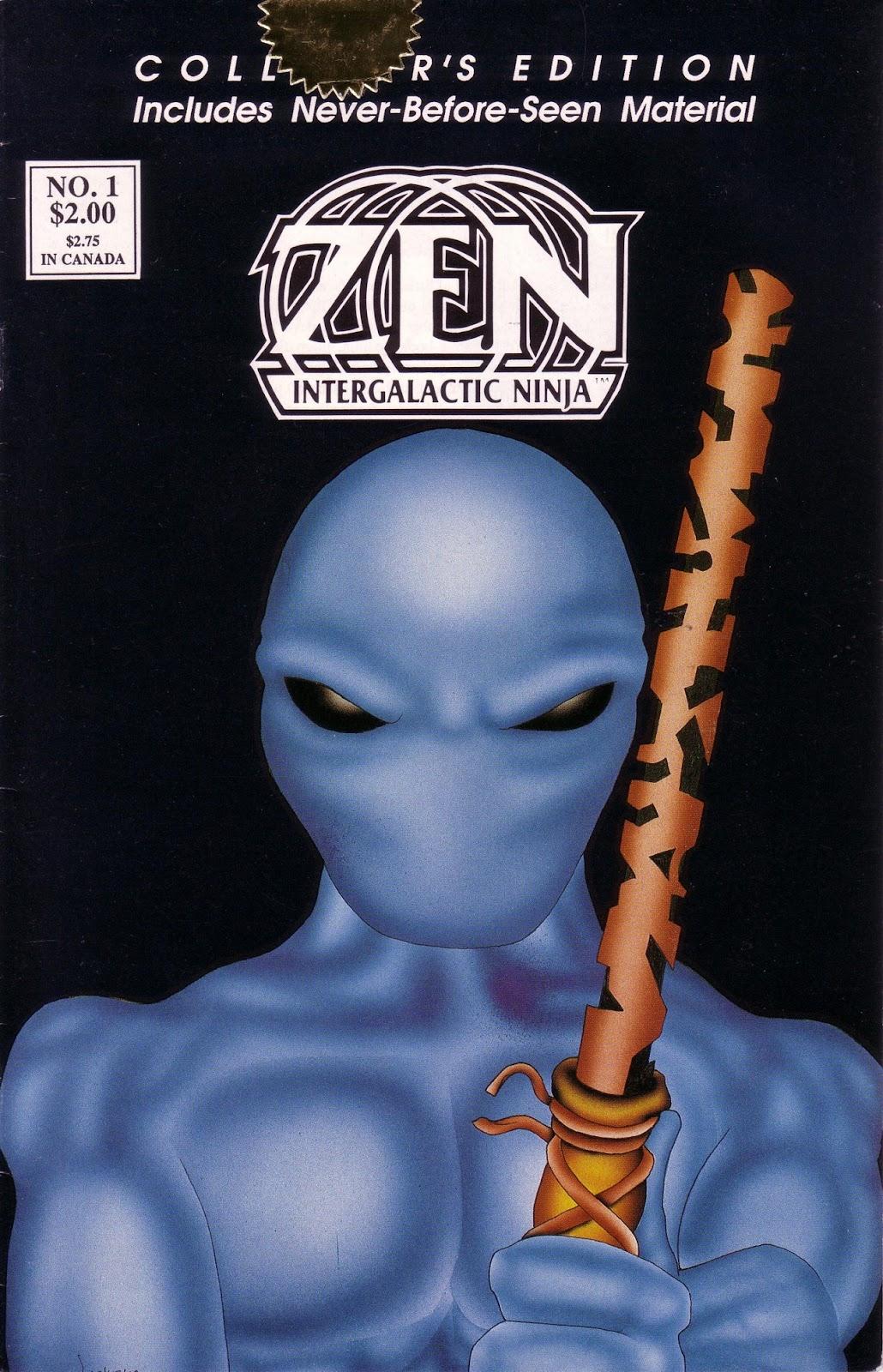 Zen Intergalactic Ninja (1989) 1 Page 1