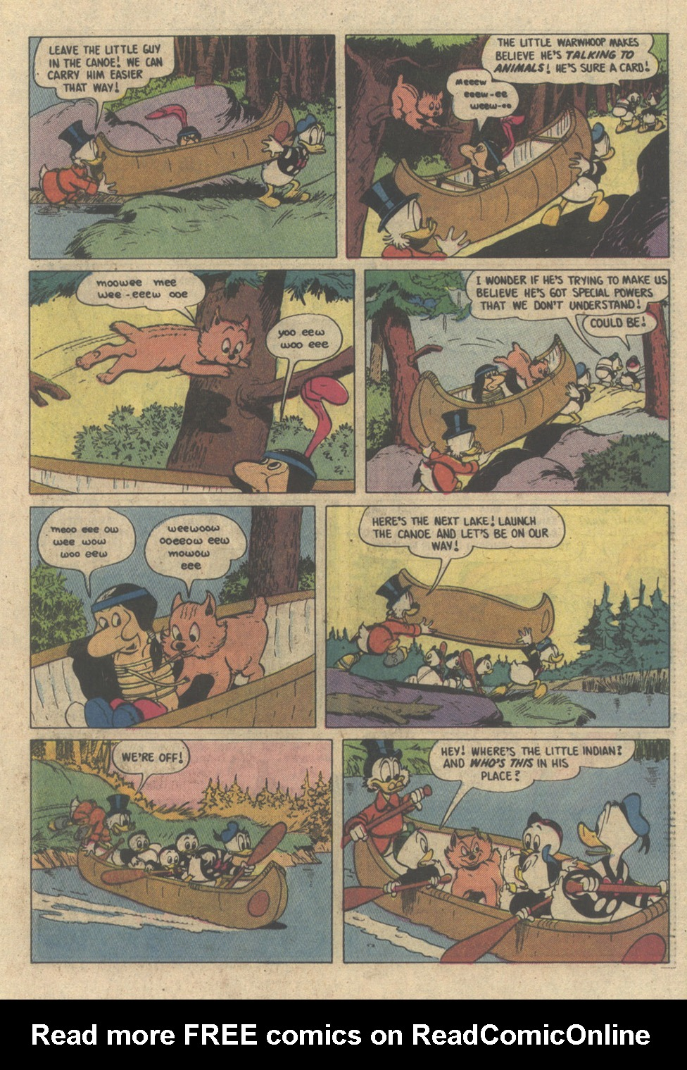 Read online Uncle Scrooge (1953) comic -  Issue #208 - 17
