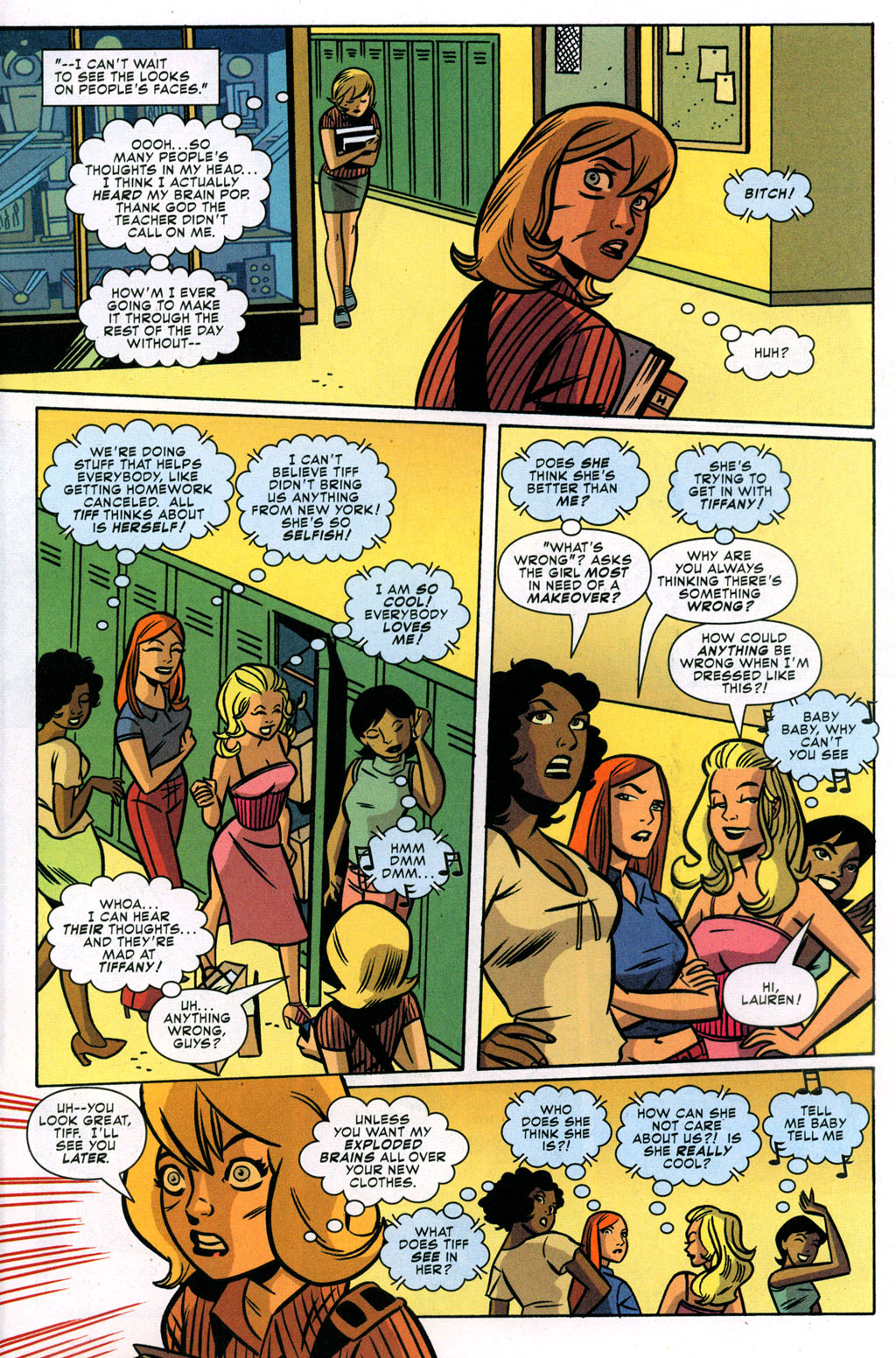 Read online Bad Girls comic -  Issue #3 - 10