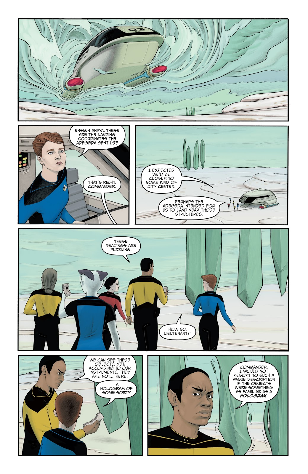 Read online Star Trek: Waypoint Special 2019 comic -  Issue # Full - 24