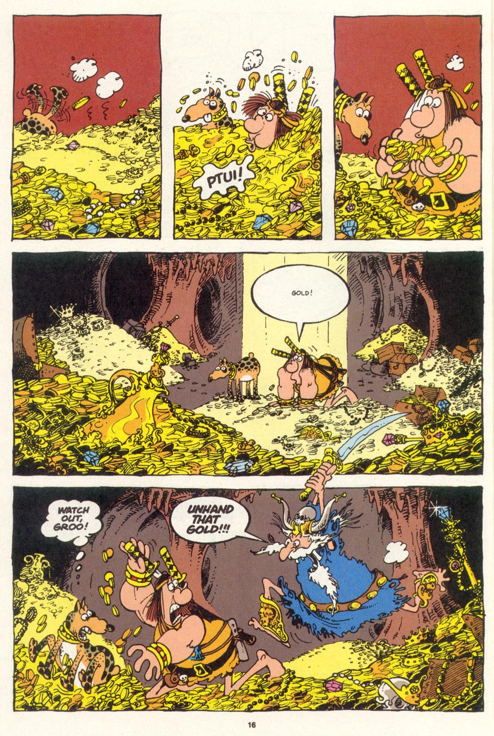 Read online Sergio Aragonés Groo the Wanderer comic -  Issue #100 - 17
