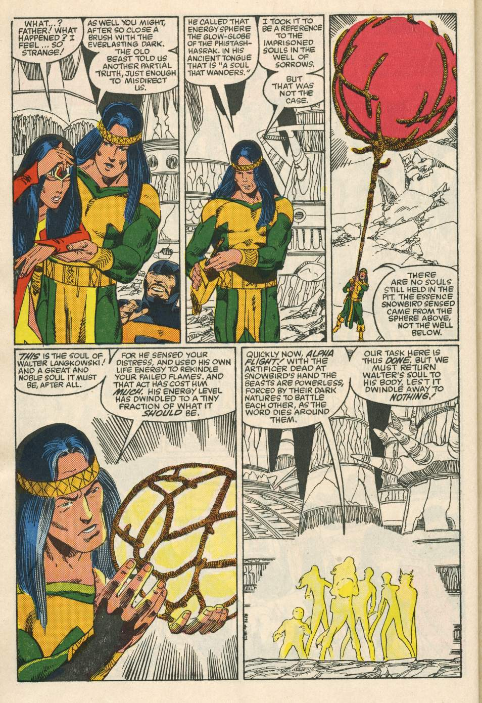 Read online Alpha Flight (1983) comic -  Issue #24 - 32
