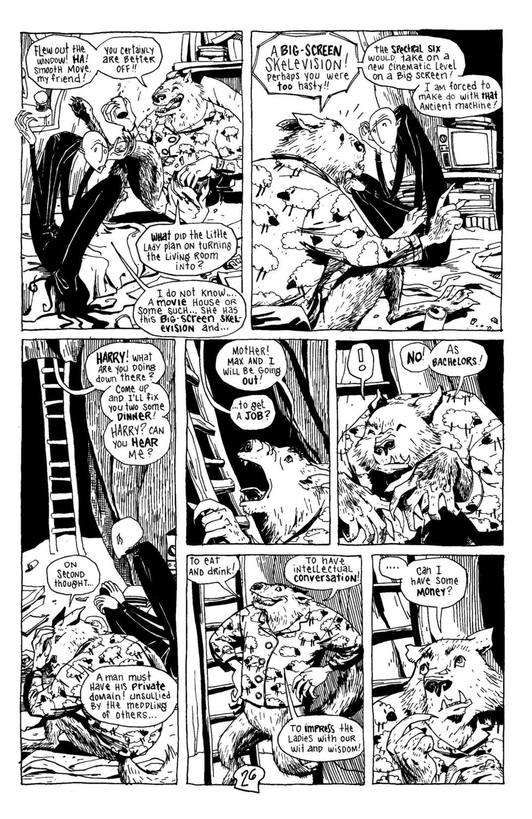 Read online Scary Godmother Comic Book Stories comic -  Issue # TPB - 27