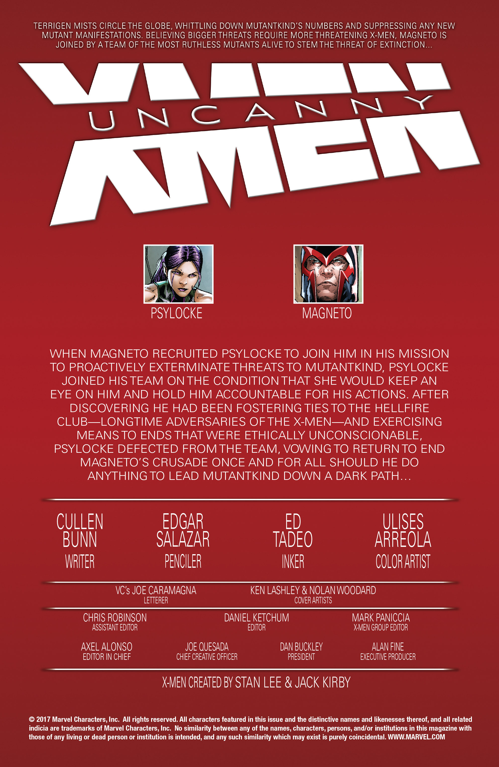Read online Uncanny X-Men (2016) comic -  Issue #19 - 2