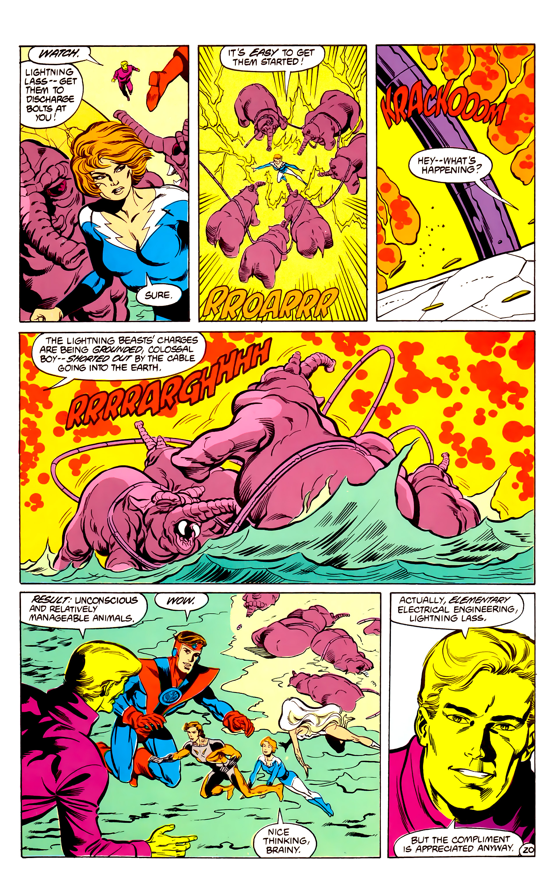 Legion of Super-Heroes (1984) 30 Page 20