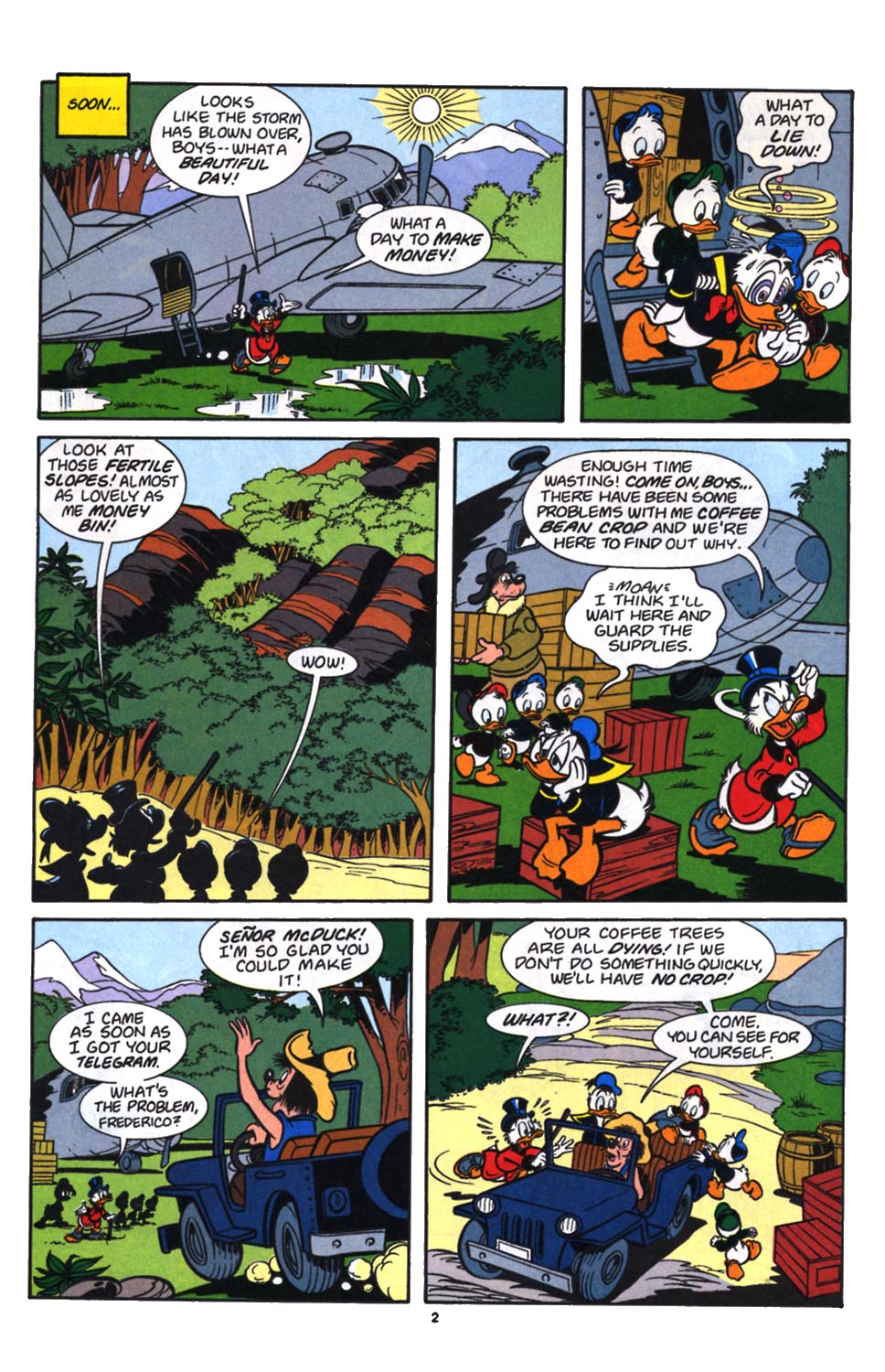 Read online Uncle Scrooge (1953) comic -  Issue #257 - 3