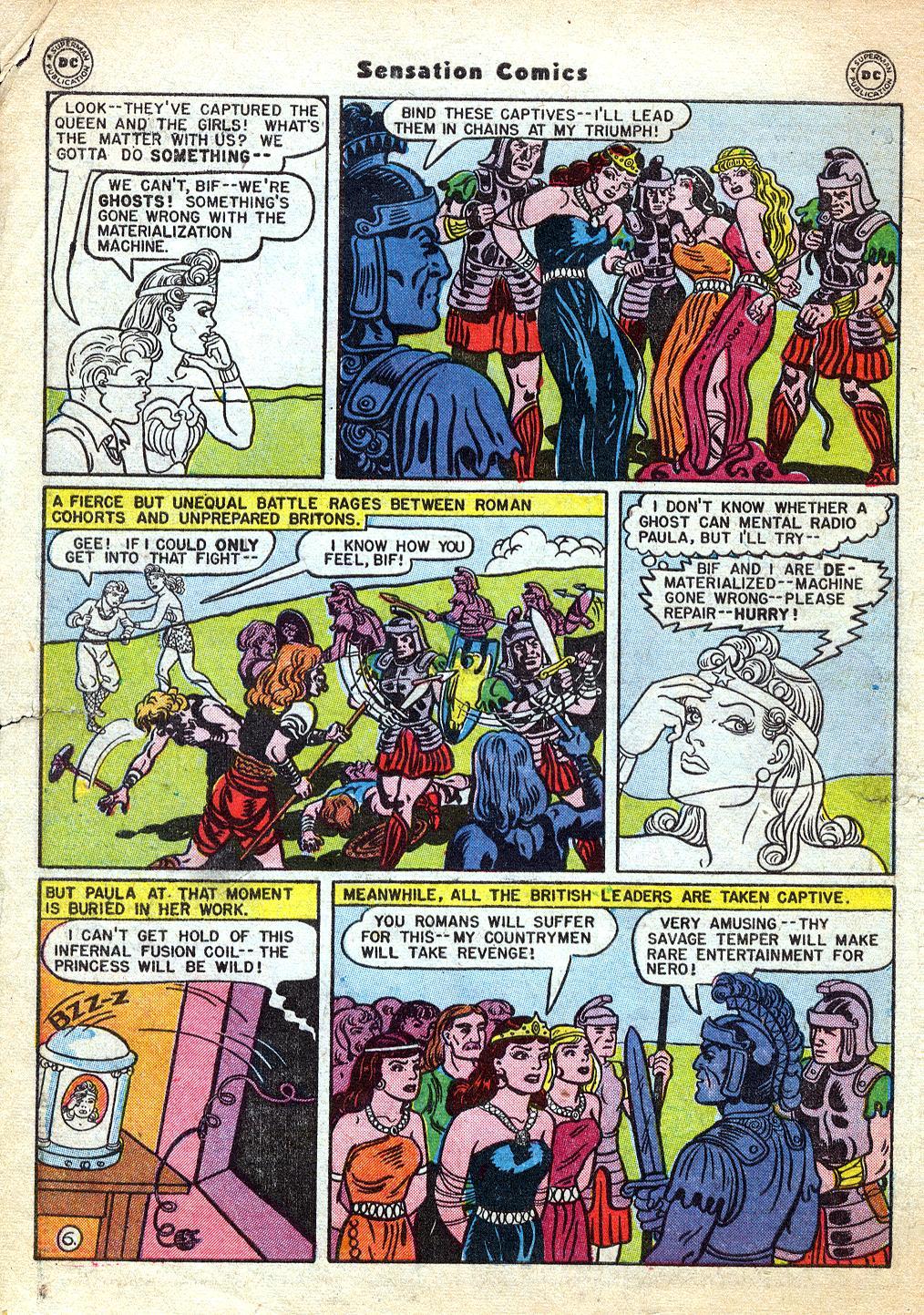 Read online Sensation (Mystery) Comics comic -  Issue #60 - 8