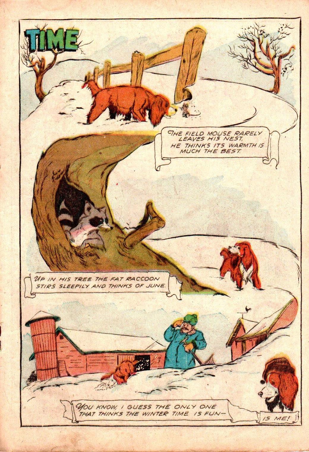 Read online Animal Comics comic -  Issue #19 - 27
