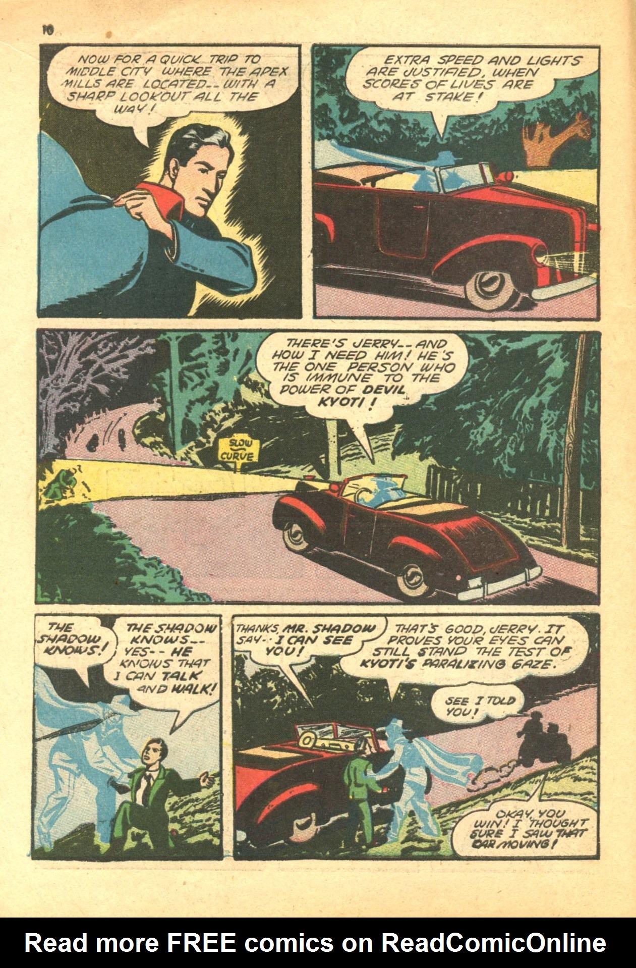 Read online Shadow Comics comic -  Issue #24 - 10