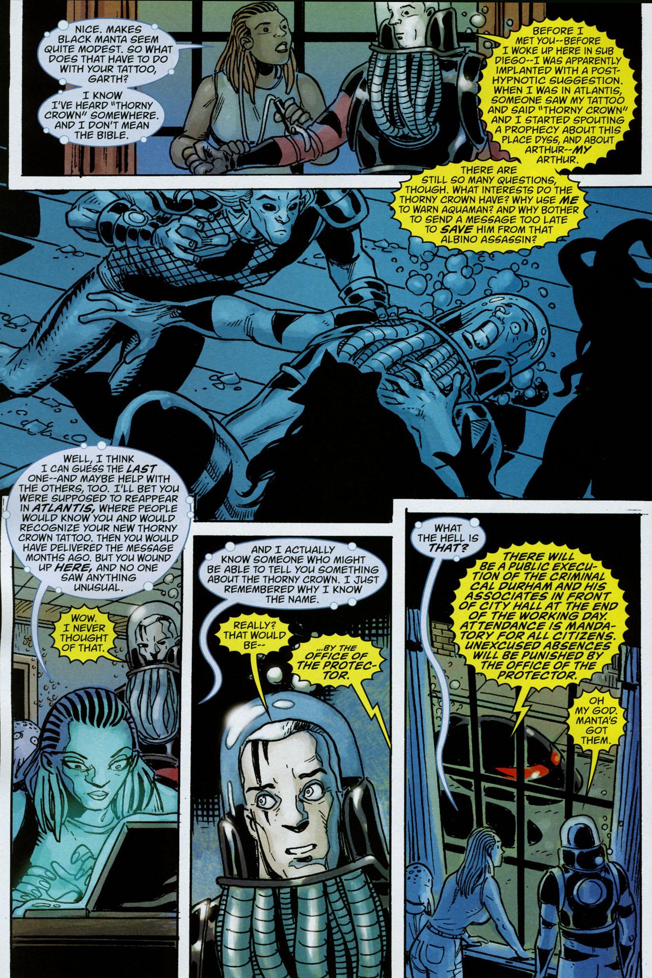Read online Aquaman: Sword of Atlantis comic -  Issue #53 - 7