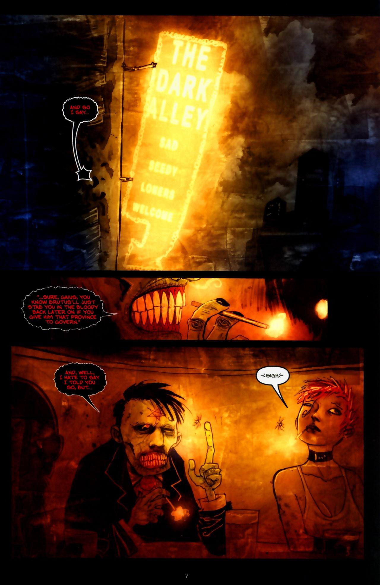 Read online Wormwood: Gentleman Corpse comic -  Issue #9 - 9