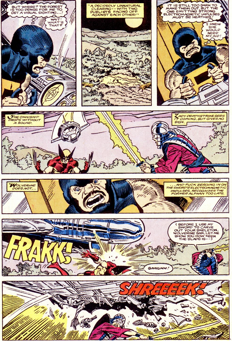 Read online Alpha Flight (1983) comic -  Issue #34 - 19