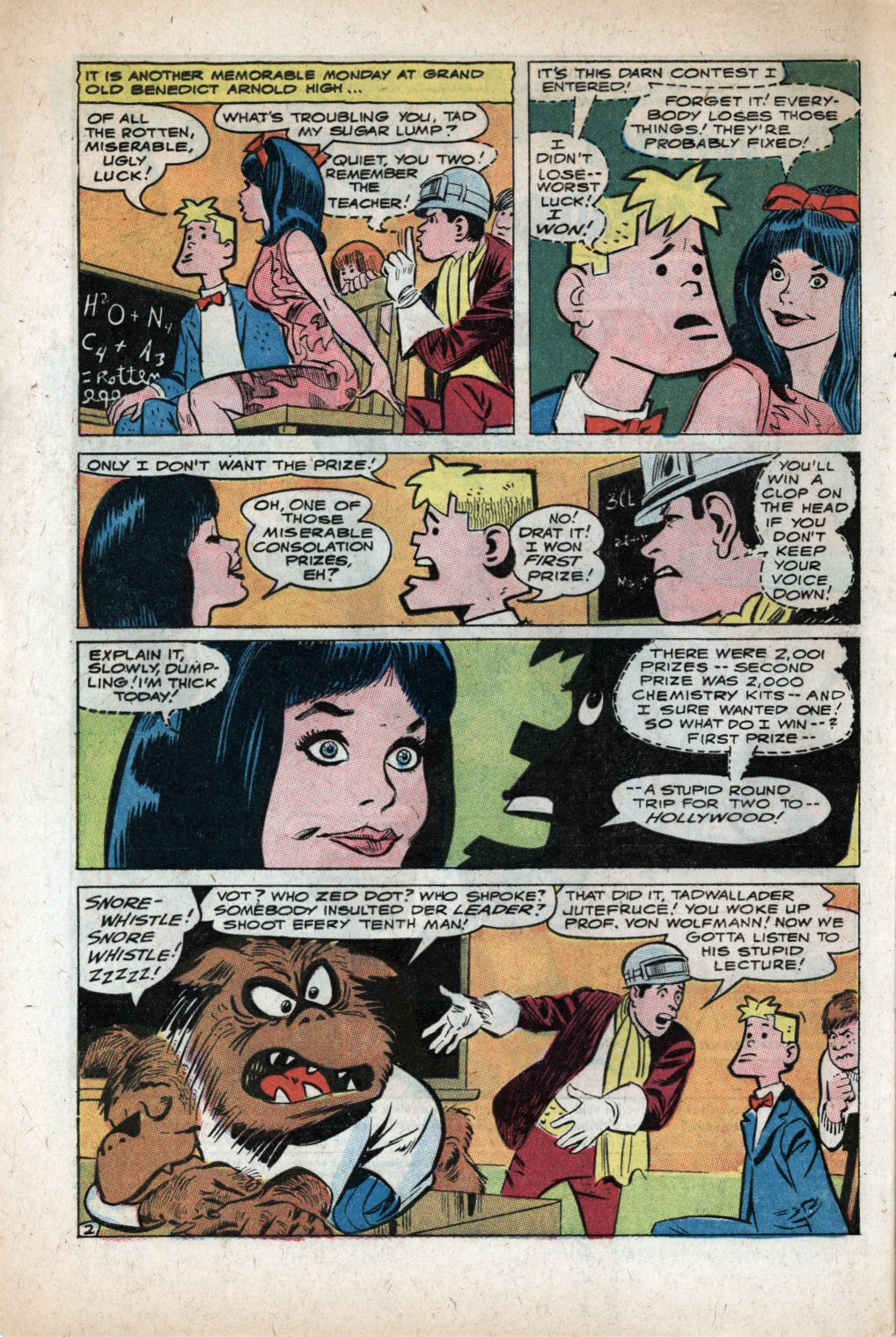 The Adventures of Bob Hope issue 105 - Page 4