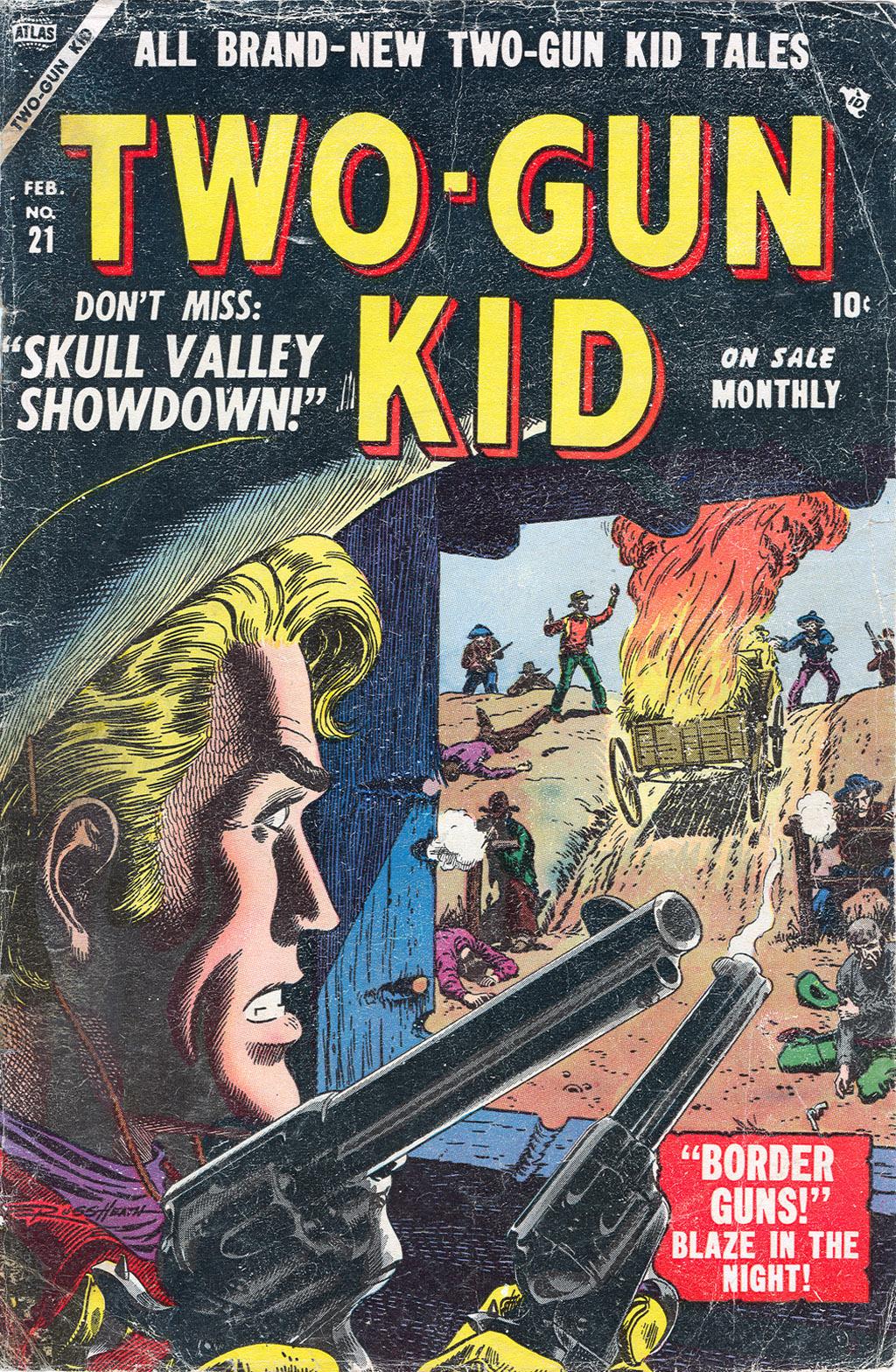 Read online Two-Gun Kid comic -  Issue #21 - 1