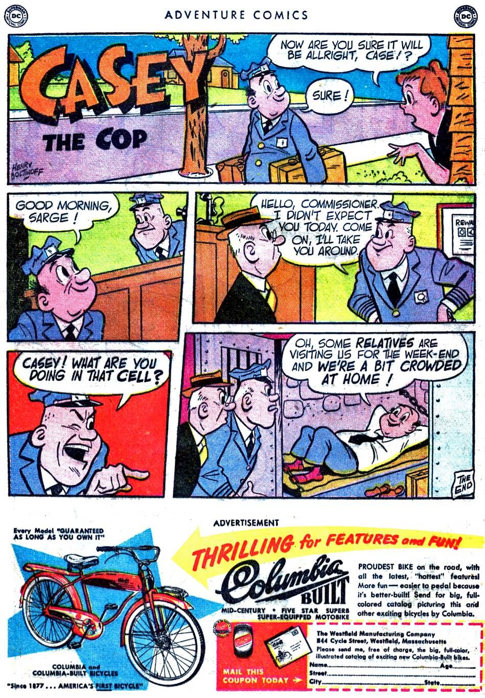 Read online Adventure Comics (1938) comic -  Issue #163 - 37