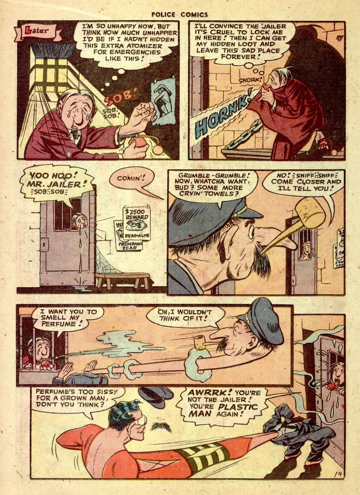 Police Comics issue 76 - Page 16