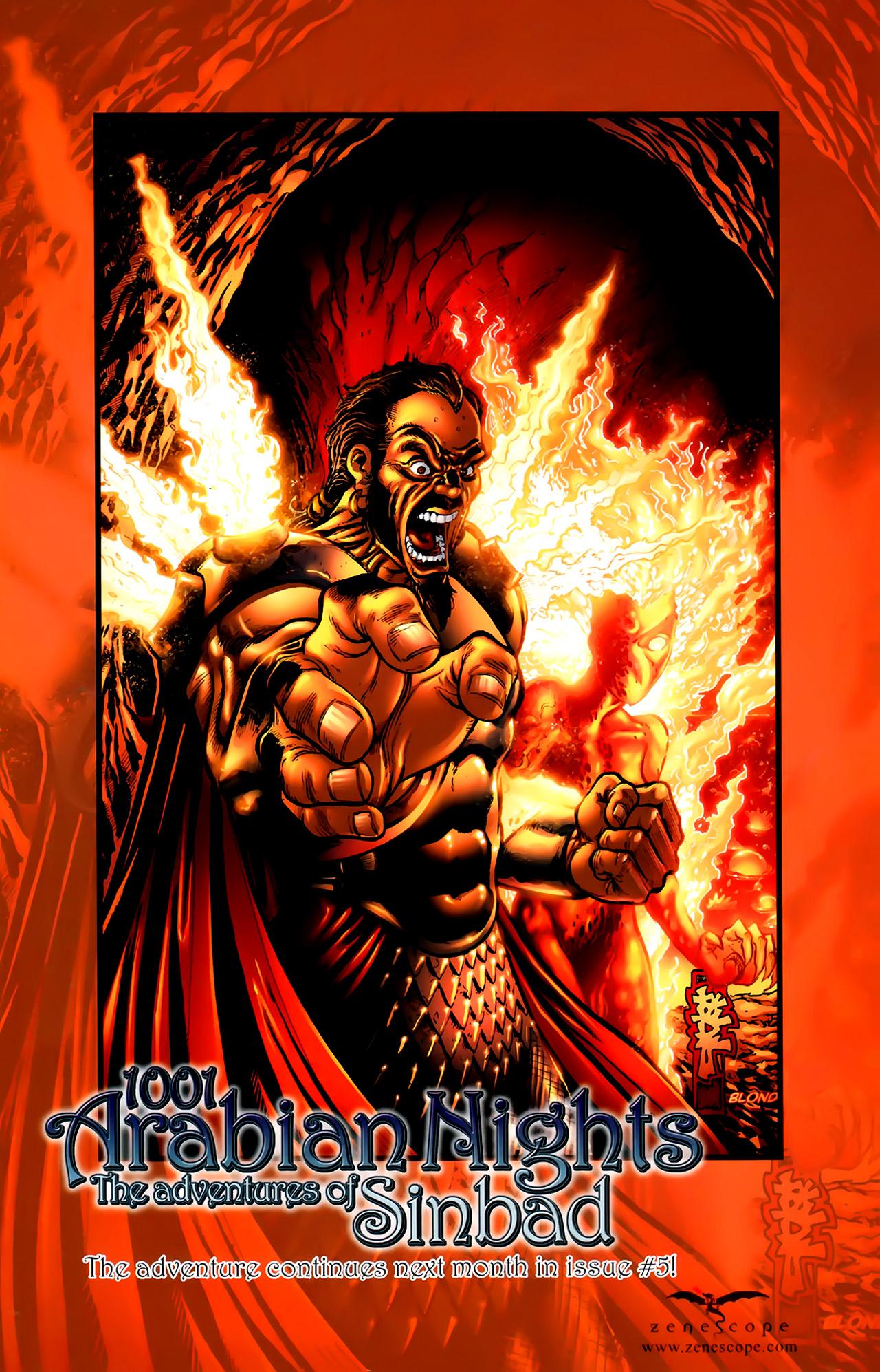 Read online 1001 Arabian Nights: The Adventures of Sinbad comic -  Issue #4 - 28