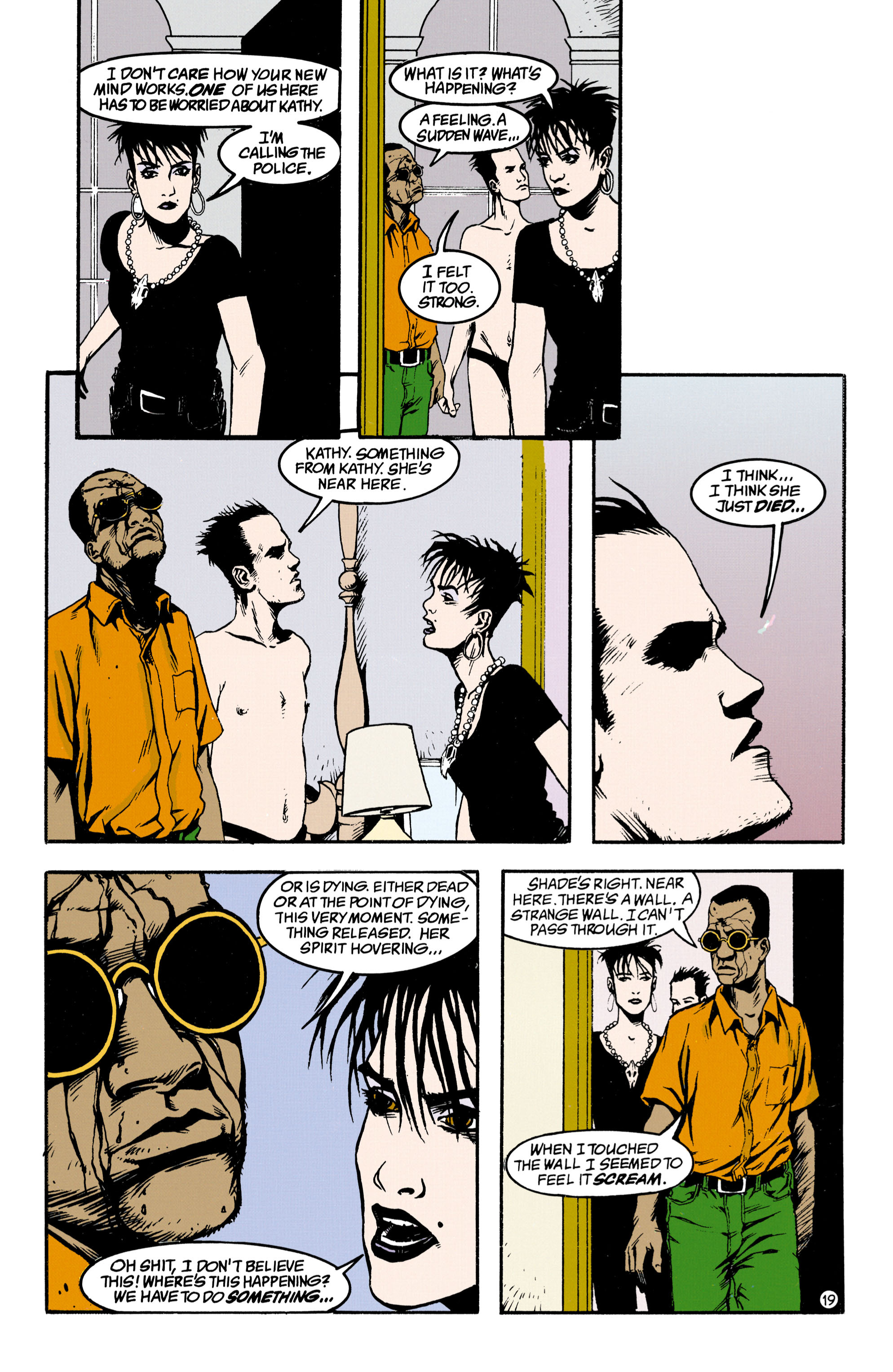 Read online Shade, the Changing Man comic -  Issue #34 - 19