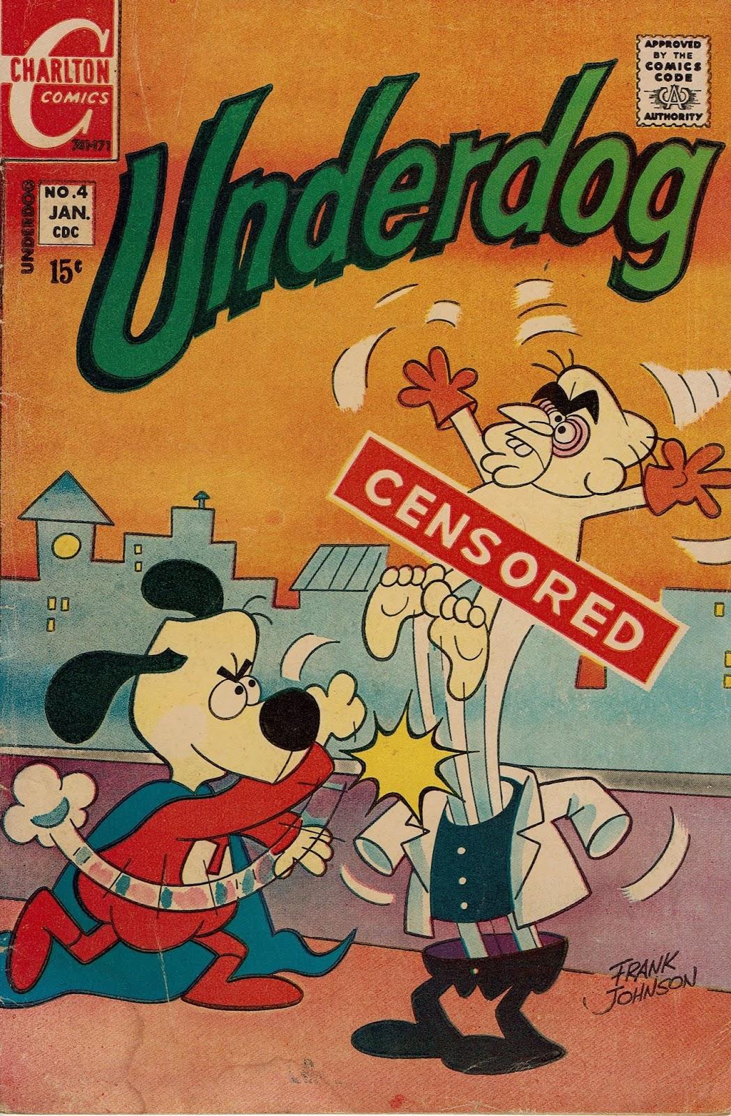 Underdog (1970) issue 4 - Page 1