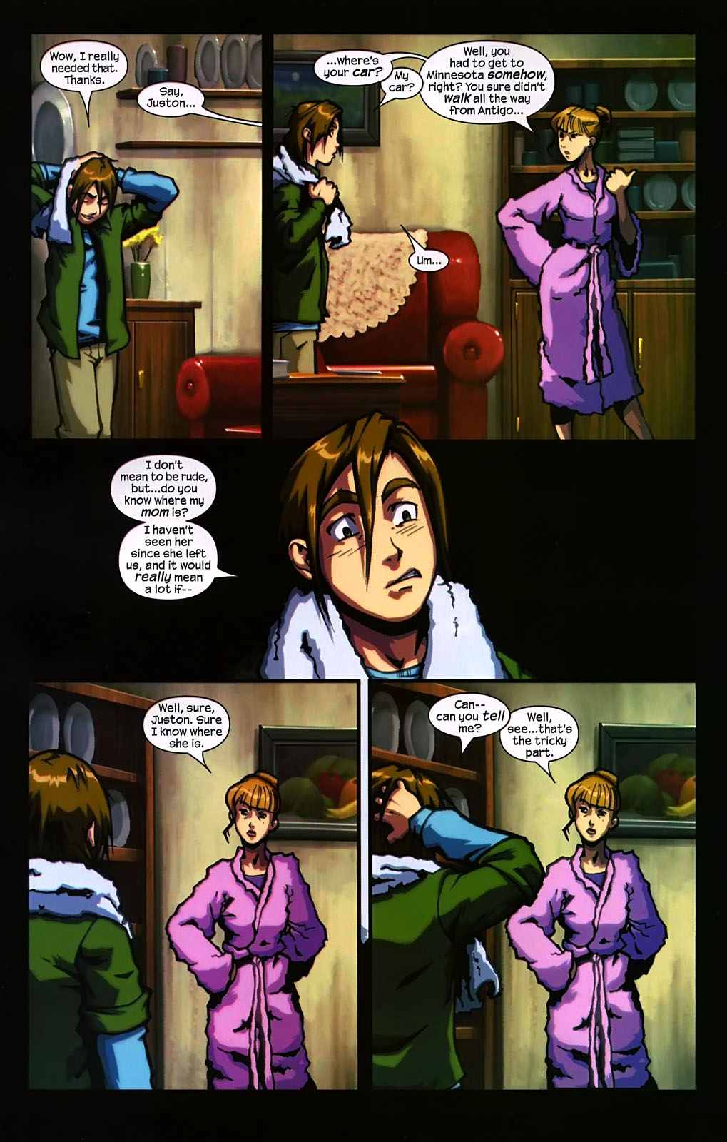 Read online Sentinel (2006) comic -  Issue #2 - 11