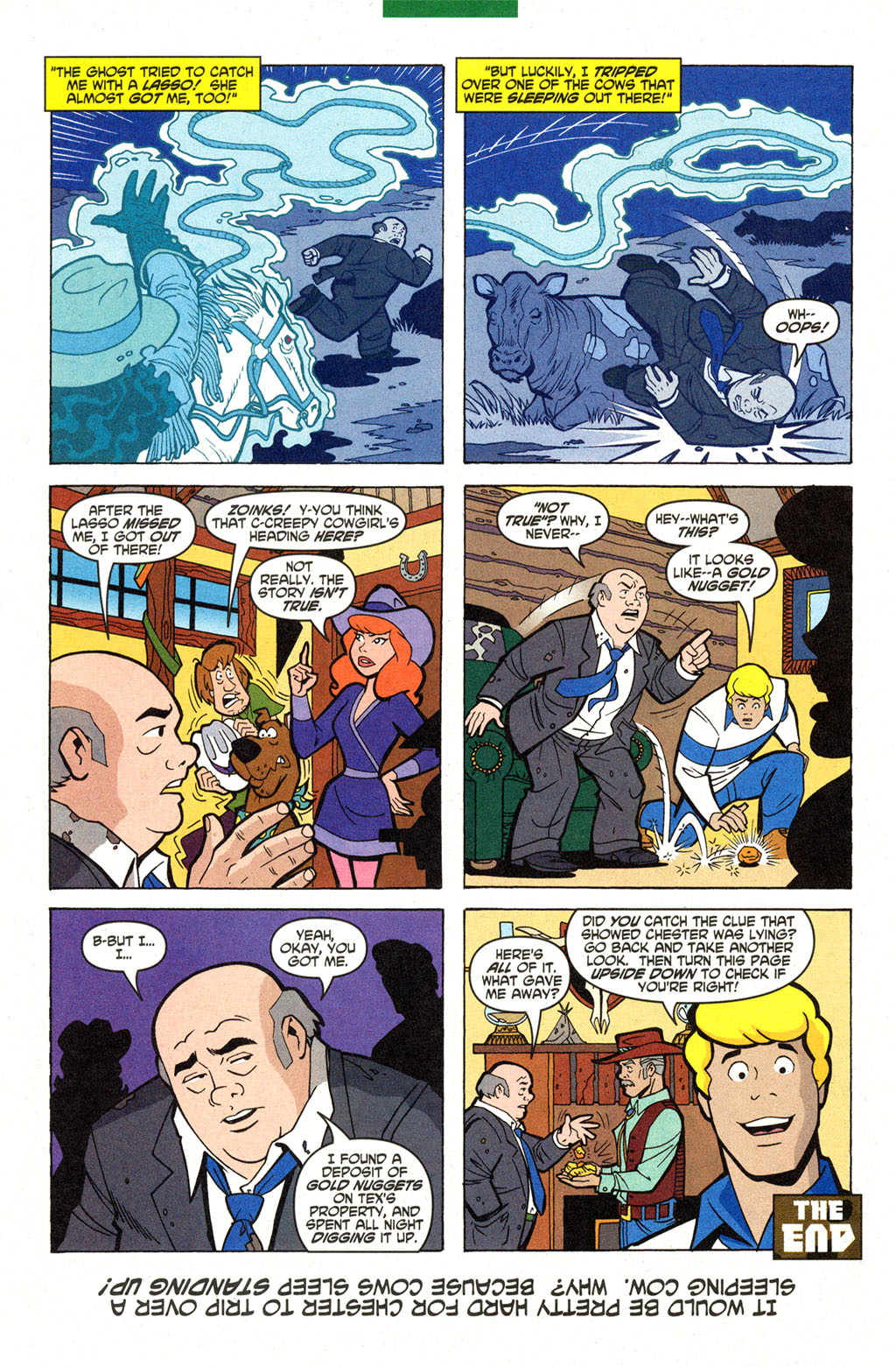 Read online Scooby-Doo (1997) comic -  Issue #99 - 11