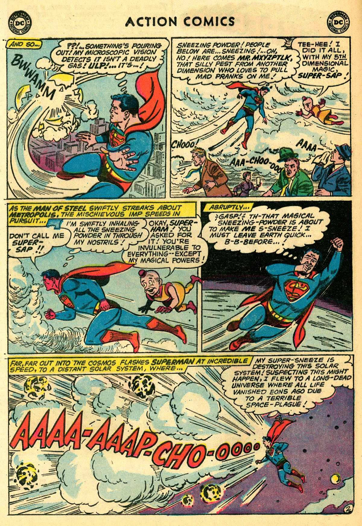 Read online Action Comics (1938) comic -  Issue #273 - 4