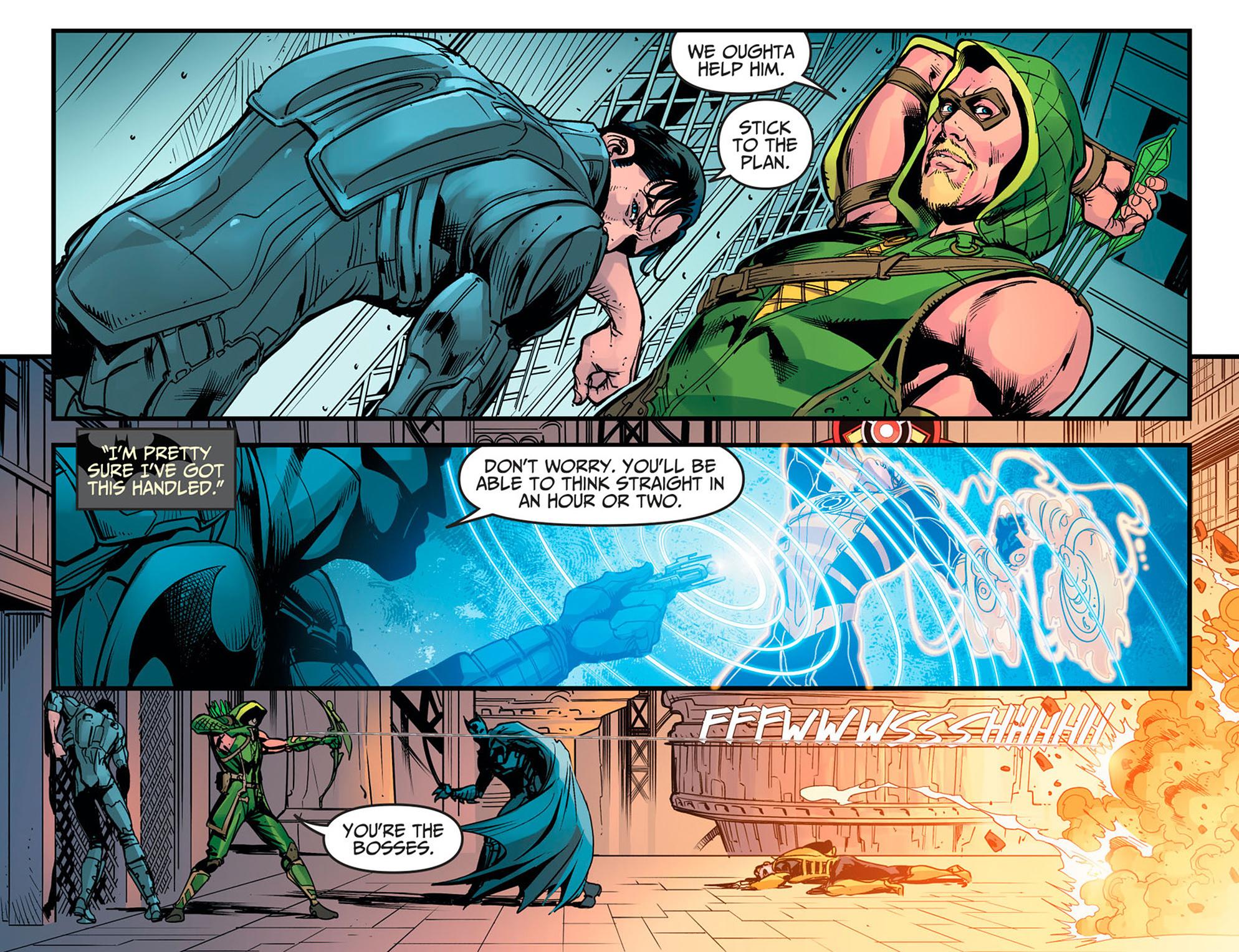 Read online Injustice: Ground Zero comic -  Issue #16 - 15