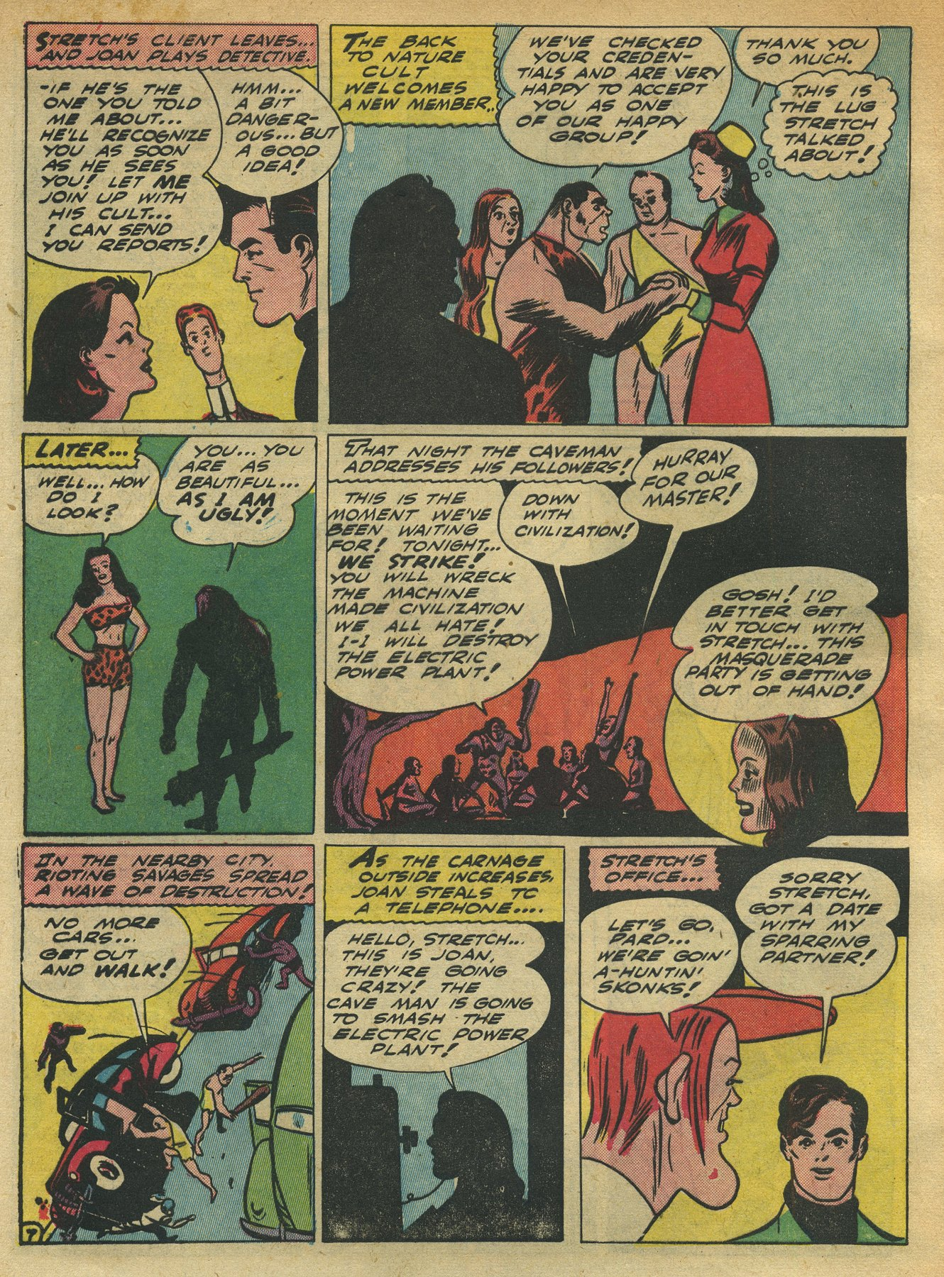 Read online Sensation (Mystery) Comics comic -  Issue #10 - 62