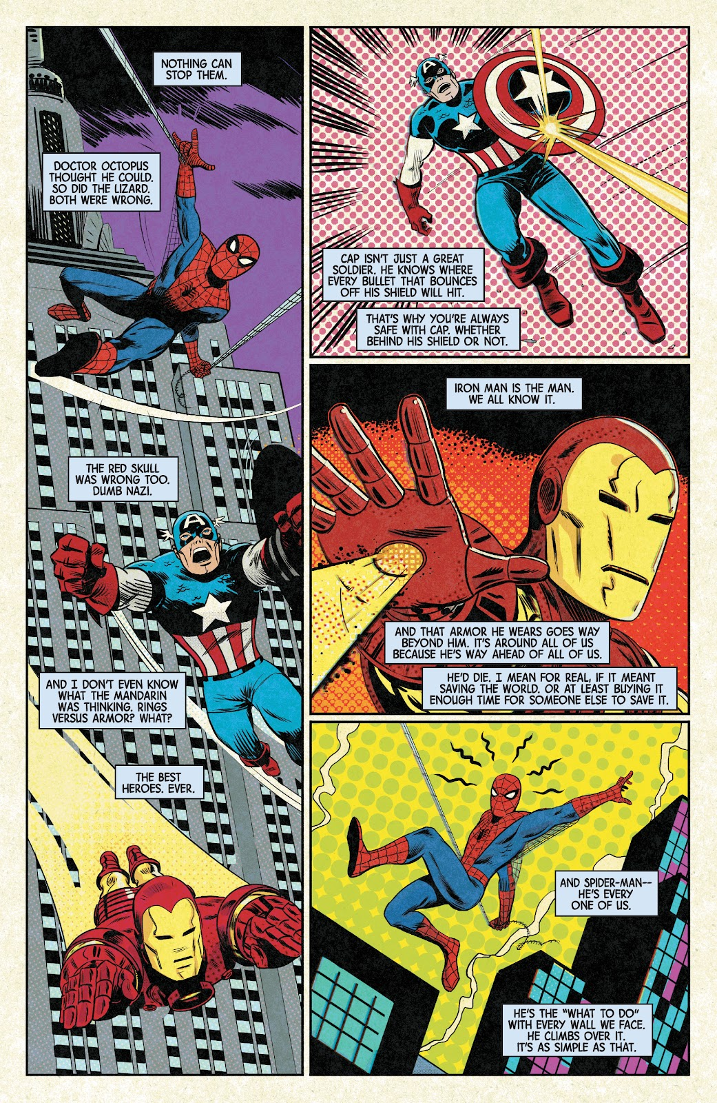 Read online Marvels X comic -  Issue #1 - 2