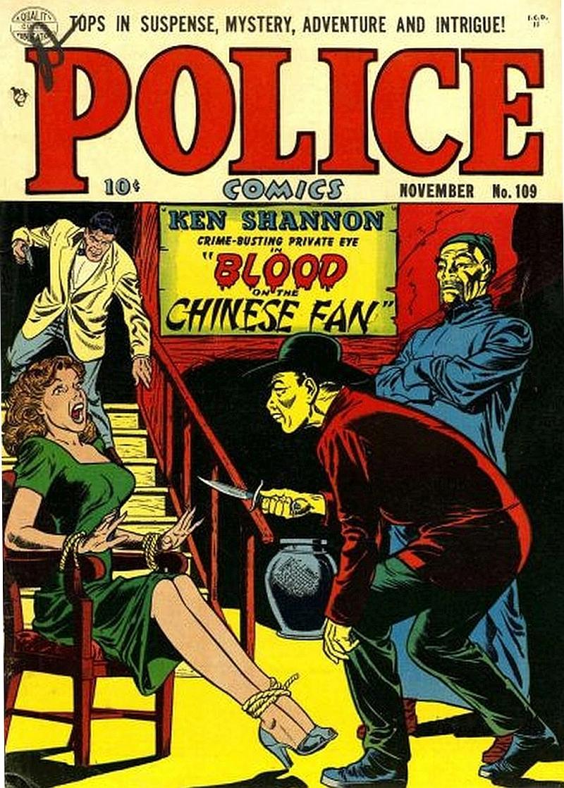 Police Comics 109 Page 1