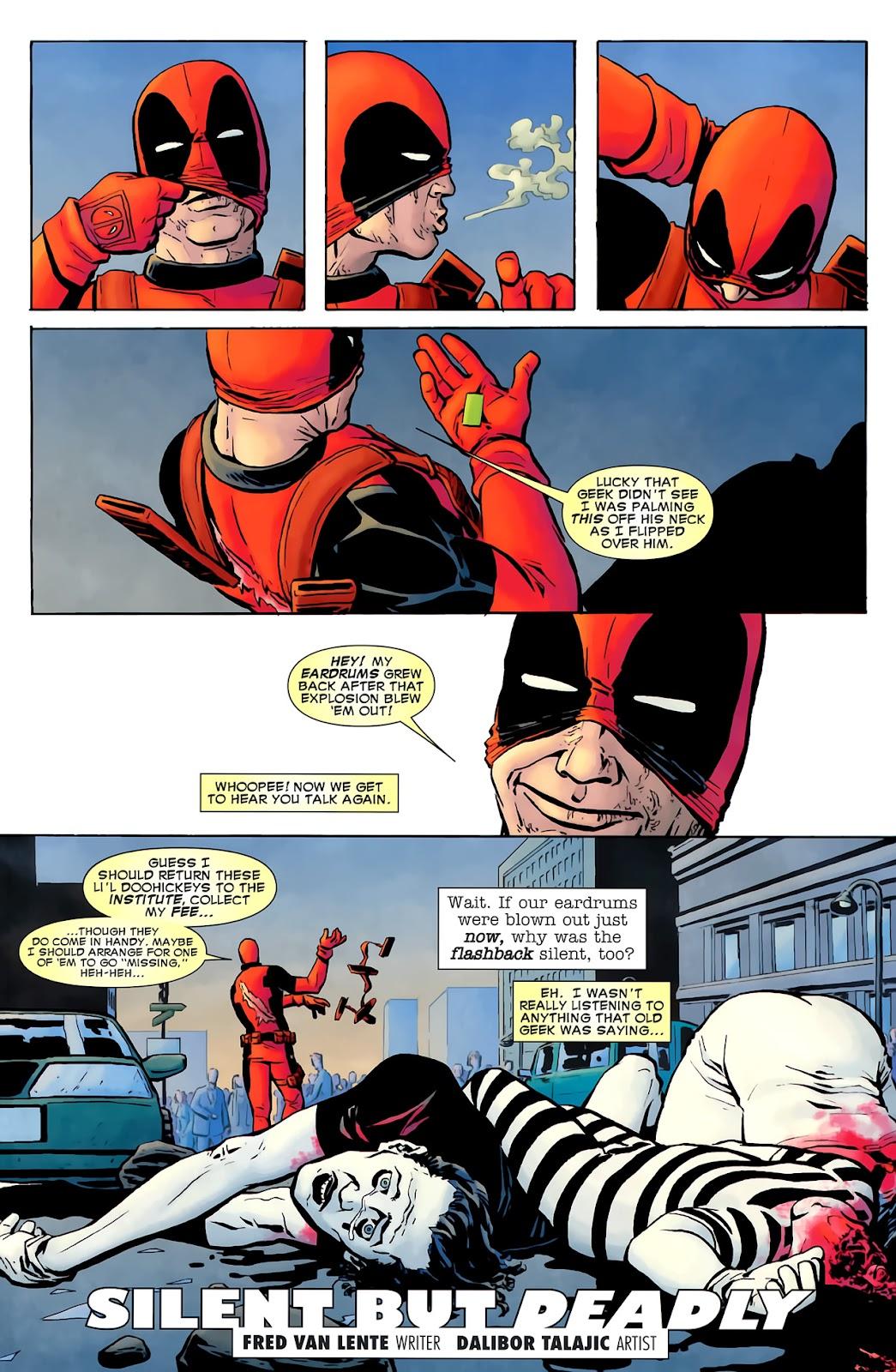 Read online Deadpool (2008) comic -  Issue #900 - 22