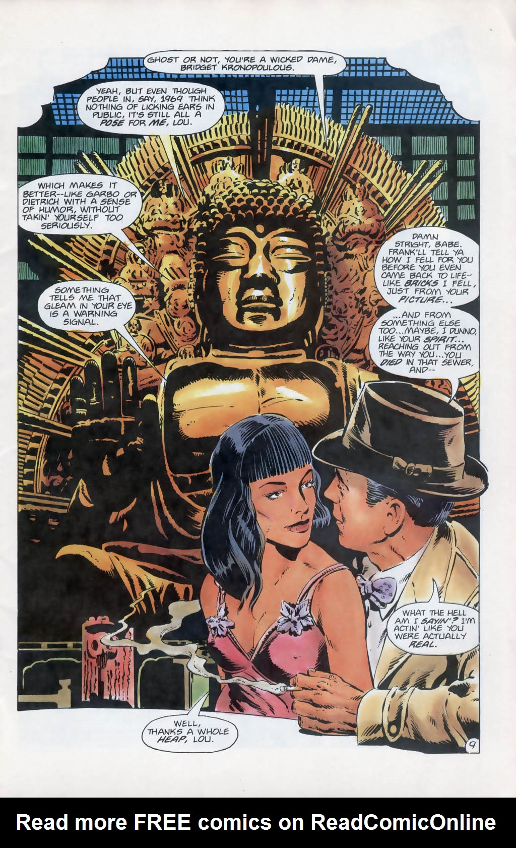Read online Aztec Ace comic -  Issue #13 - 10