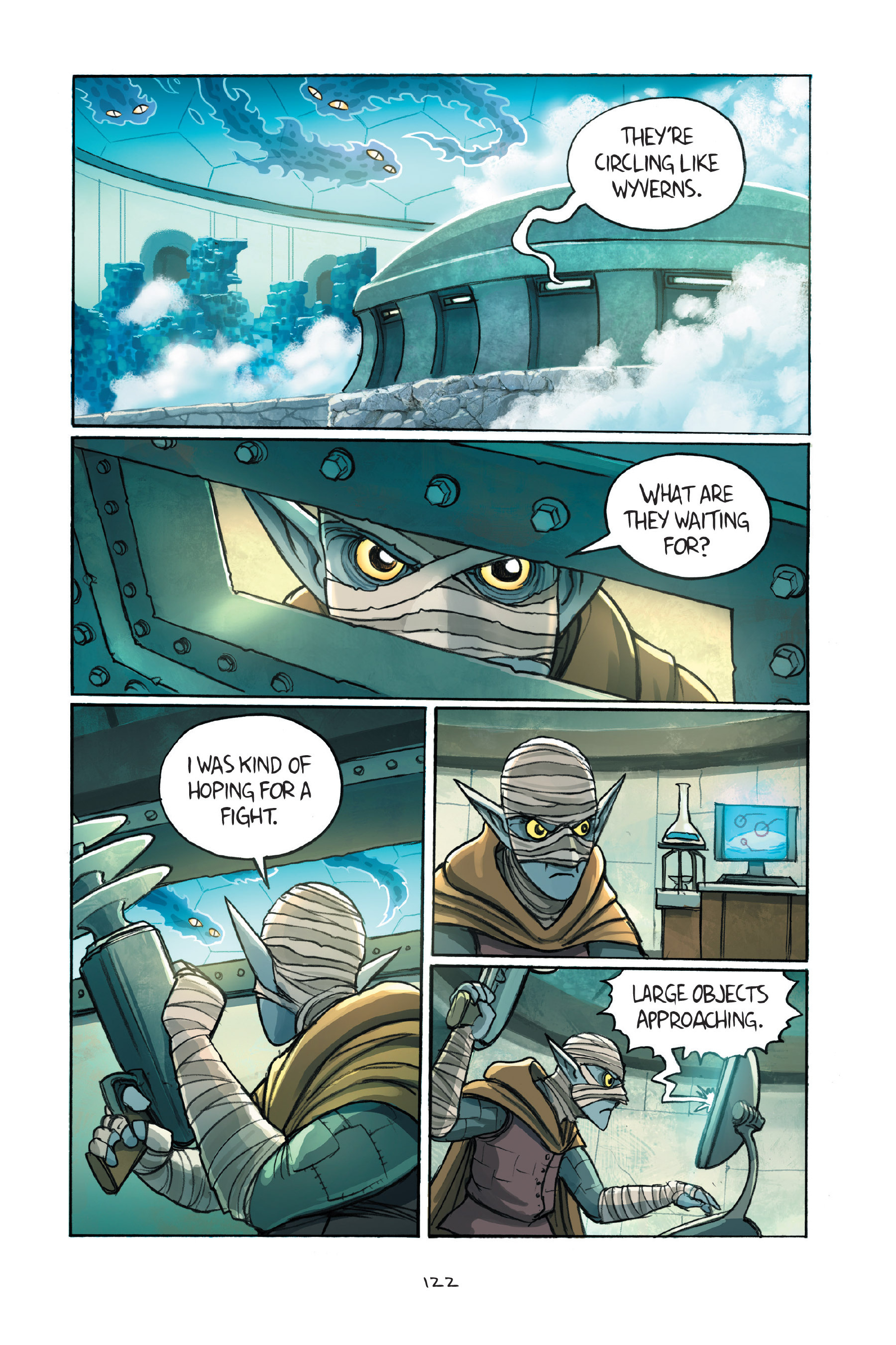 Read online Amulet comic -  Issue #7 - 122