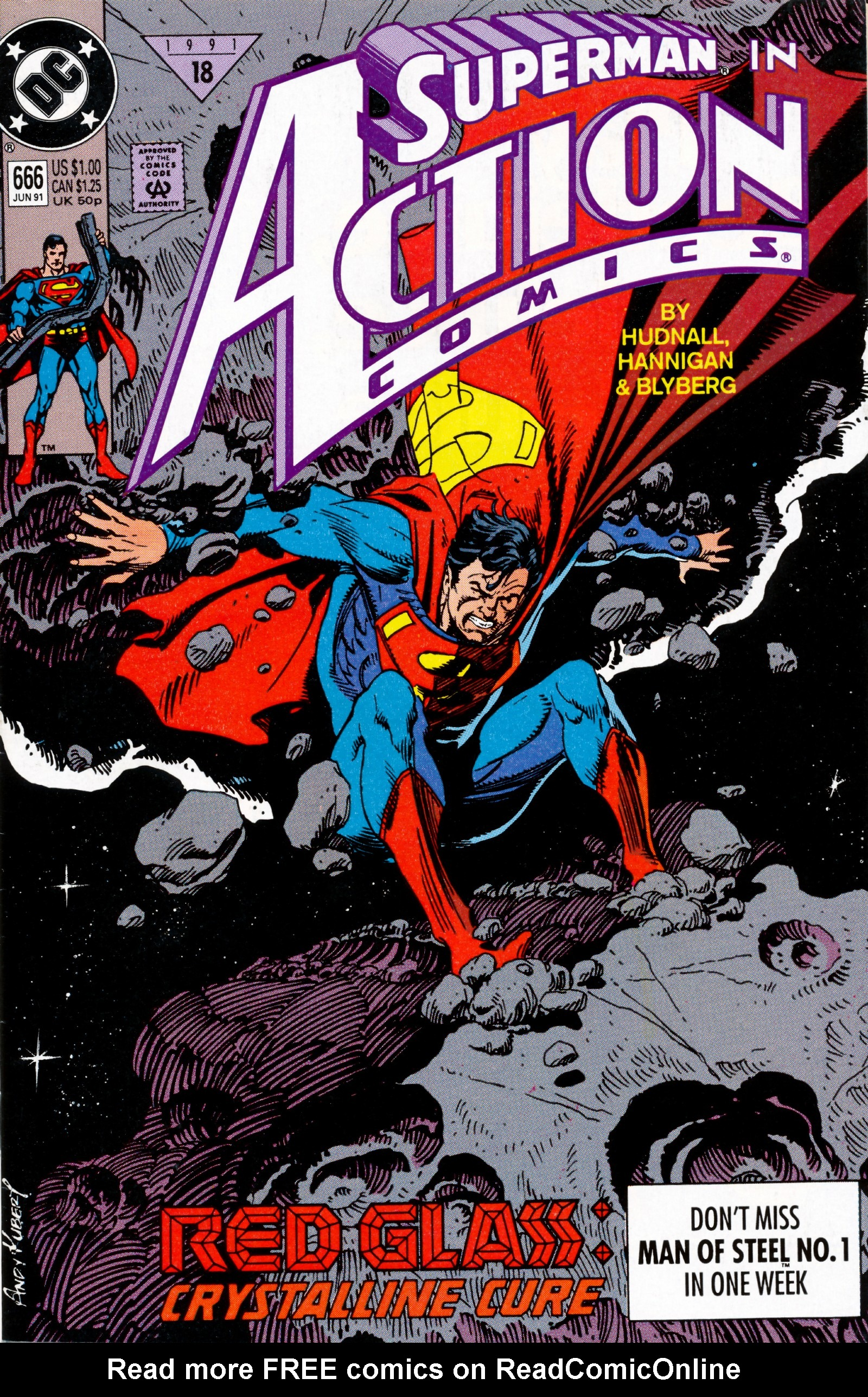 Read online Action Comics (1938) comic -  Issue #666 - 1