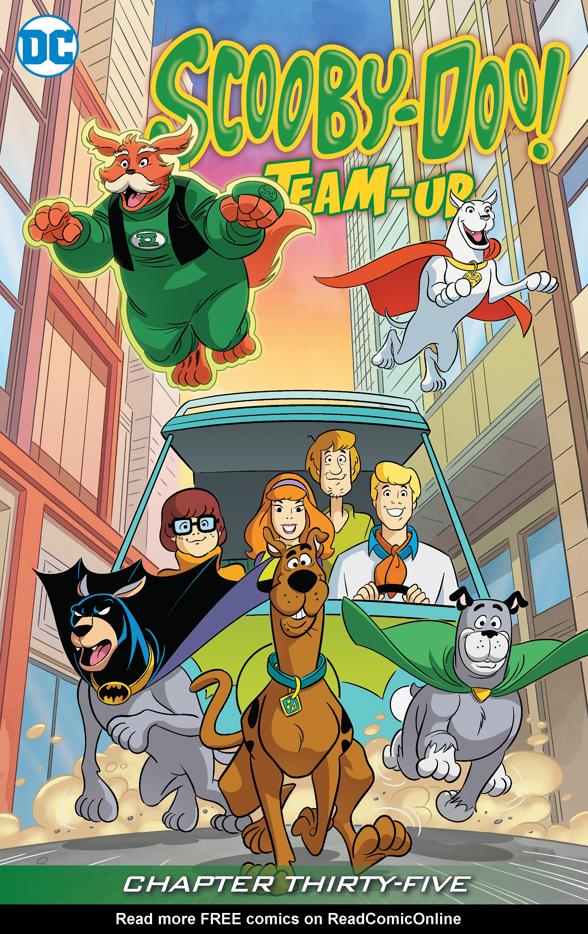 Read online Scooby-Doo! Team-Up comic -  Issue #35 - 2
