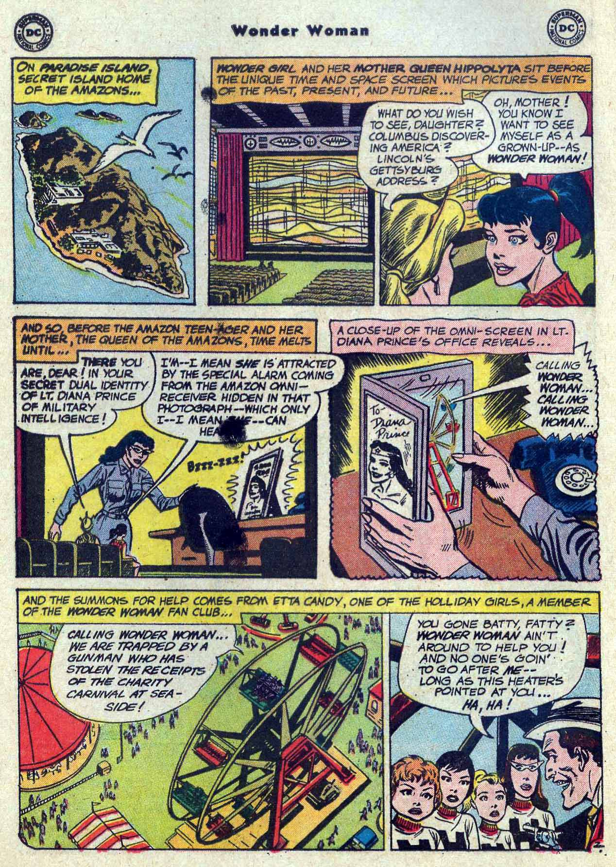 Read online Wonder Woman (1942) comic -  Issue #121 - 4