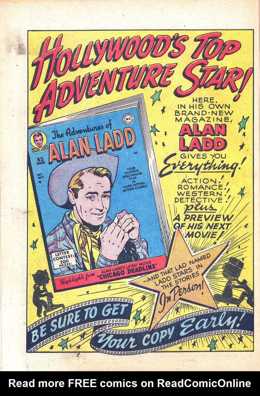 Read online Sensation (Mystery) Comics comic -  Issue #94 - 50