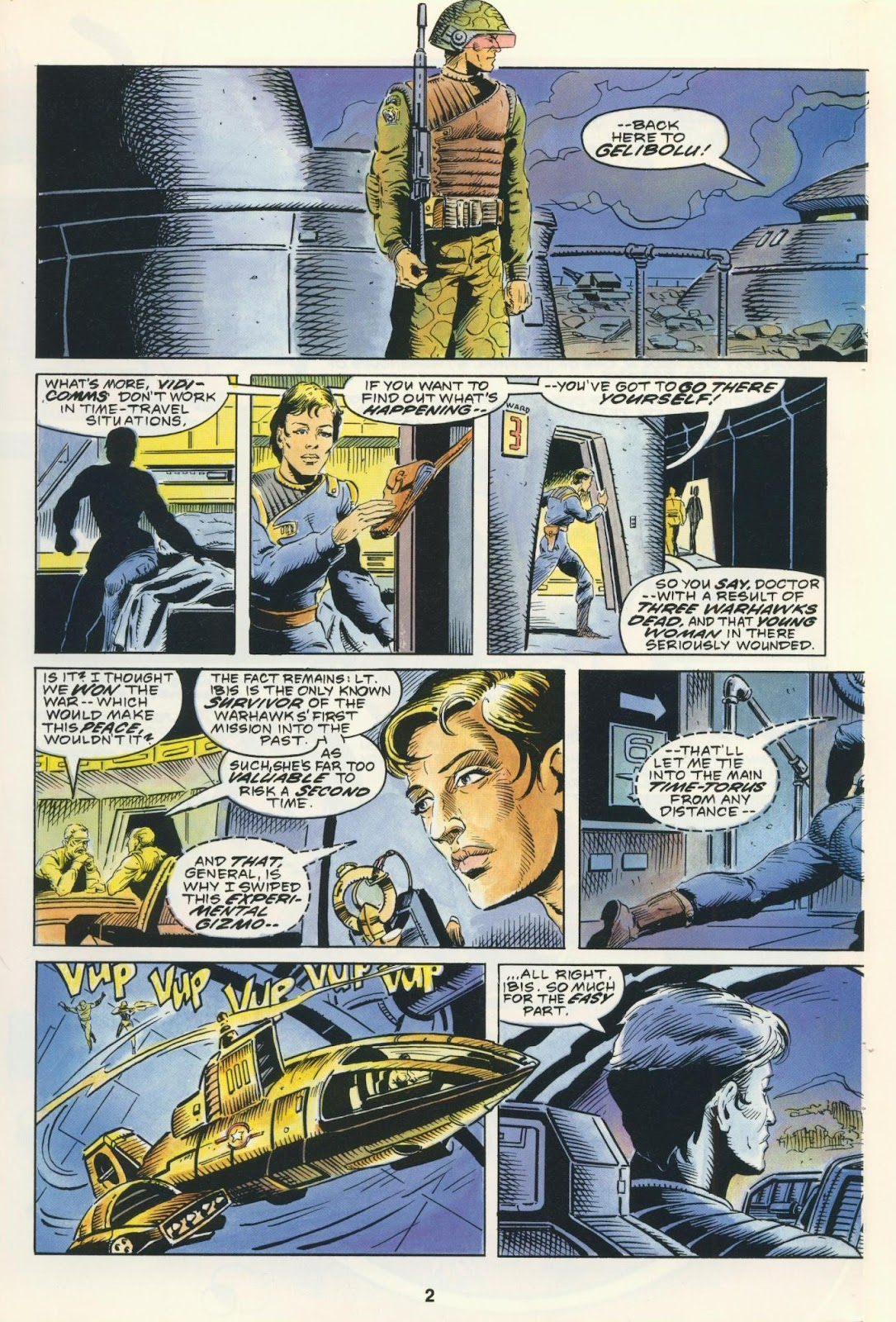 Warhawks issue 4 - Page 4