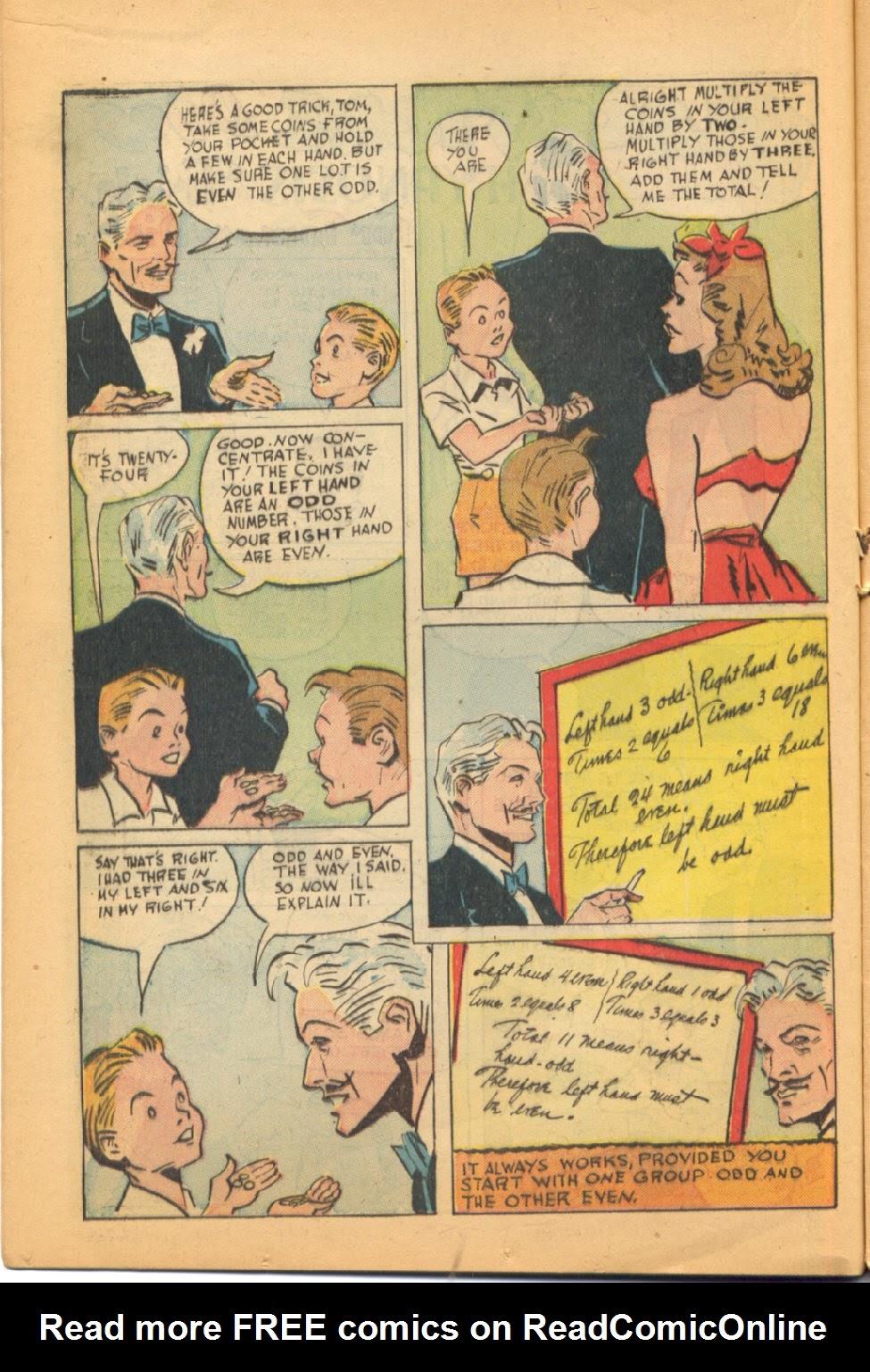 Read online Super-Magician Comics comic -  Issue #44 - 18
