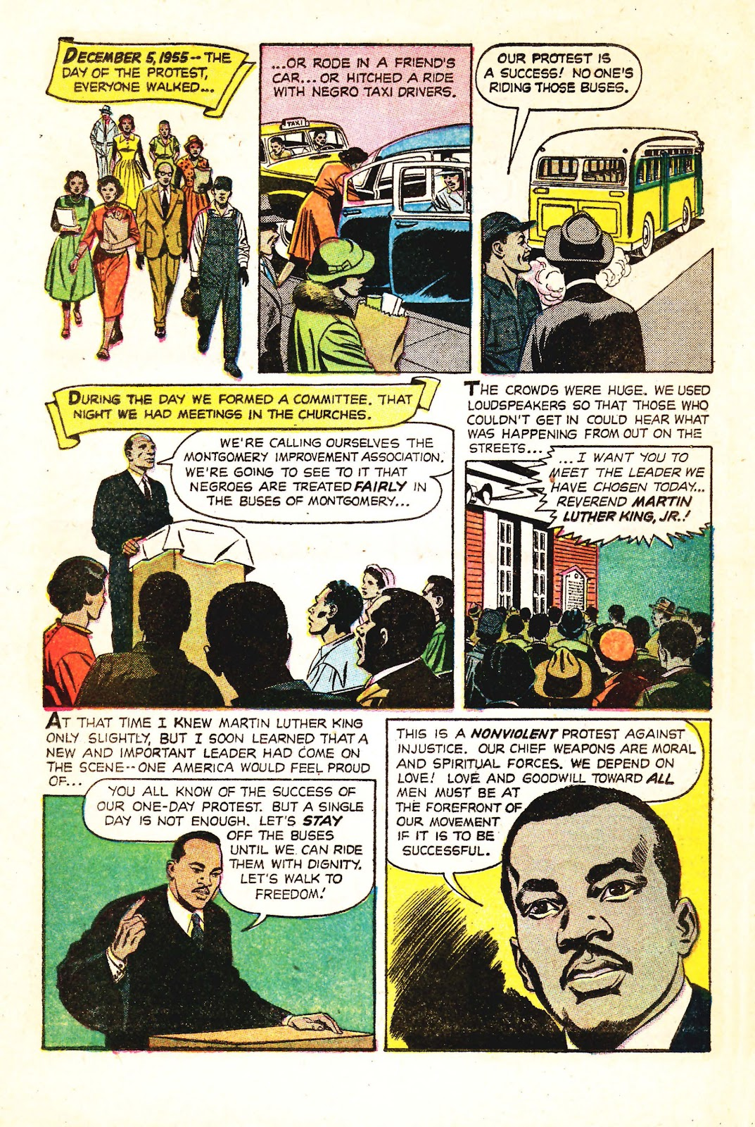 Read online Martin Luther King and the Montgomery Story comic -  Issue # Full - 5