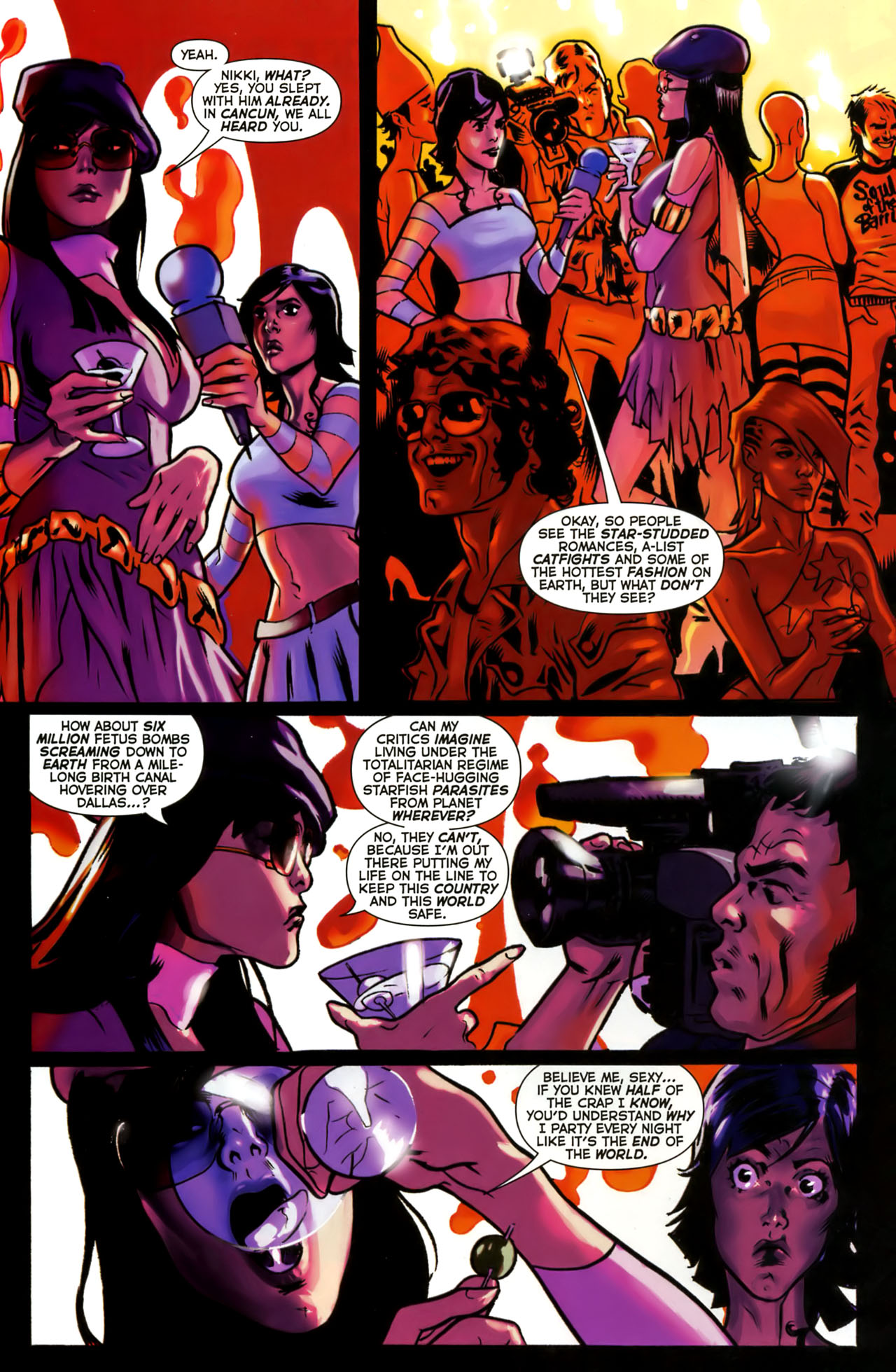 Read online Uncle Sam and the Freedom Fighters (2006) comic -  Issue #1 - 14