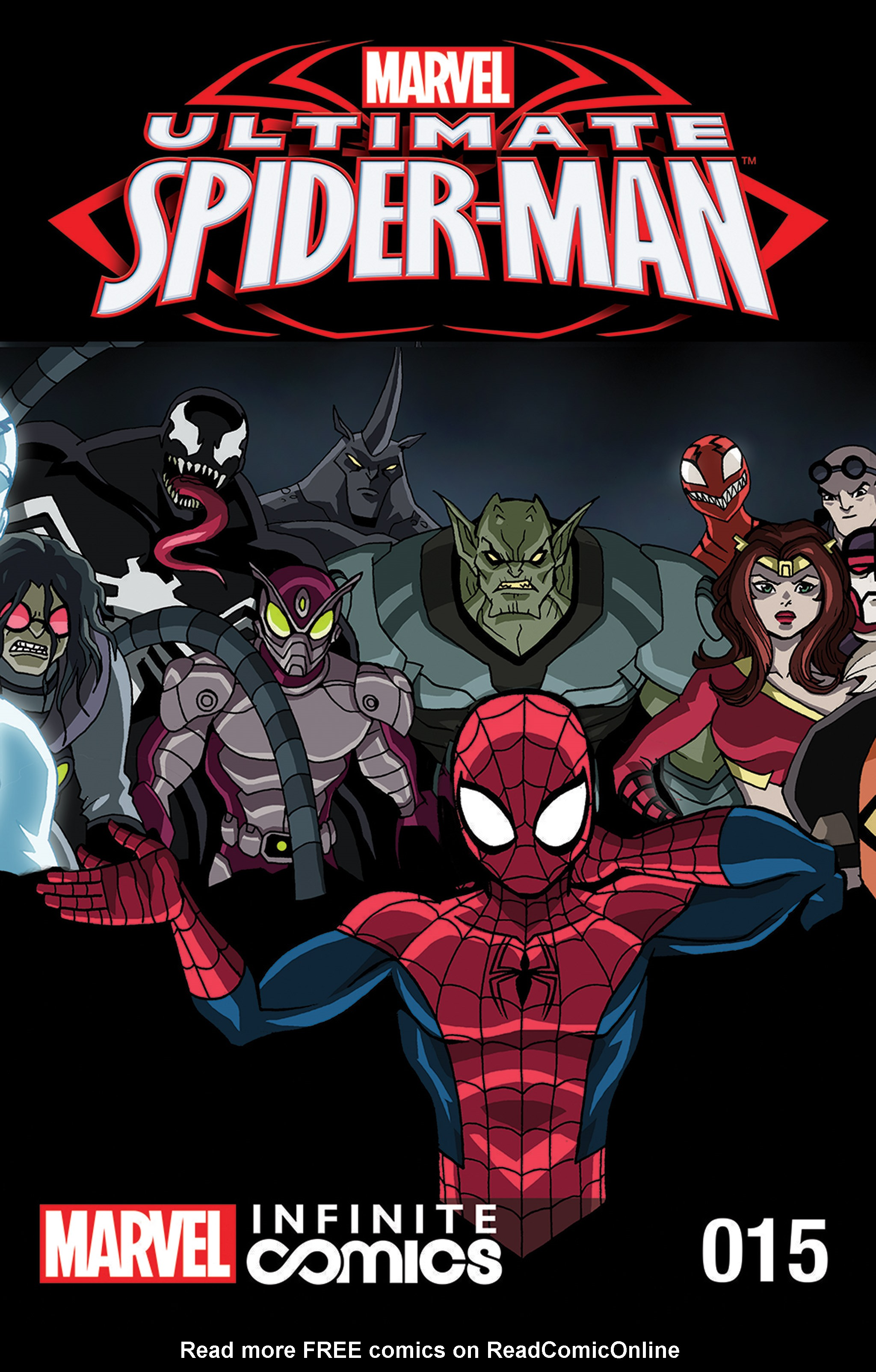Read online Ultimate Spider-Man (Infinite Comics) (2015) comic -  Issue #15 - 1
