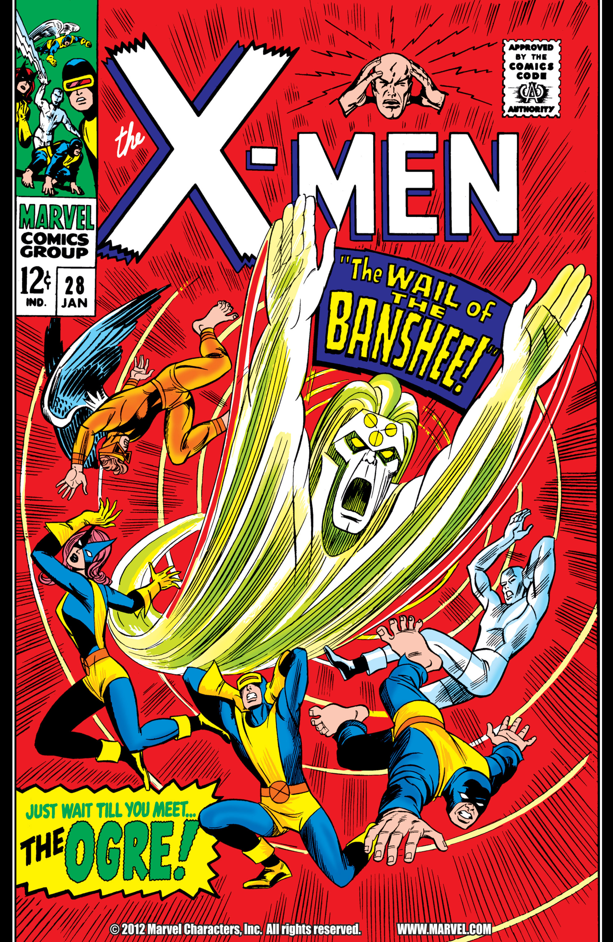 Read online Uncanny X-Men (1963) comic -  Issue #28 - 1