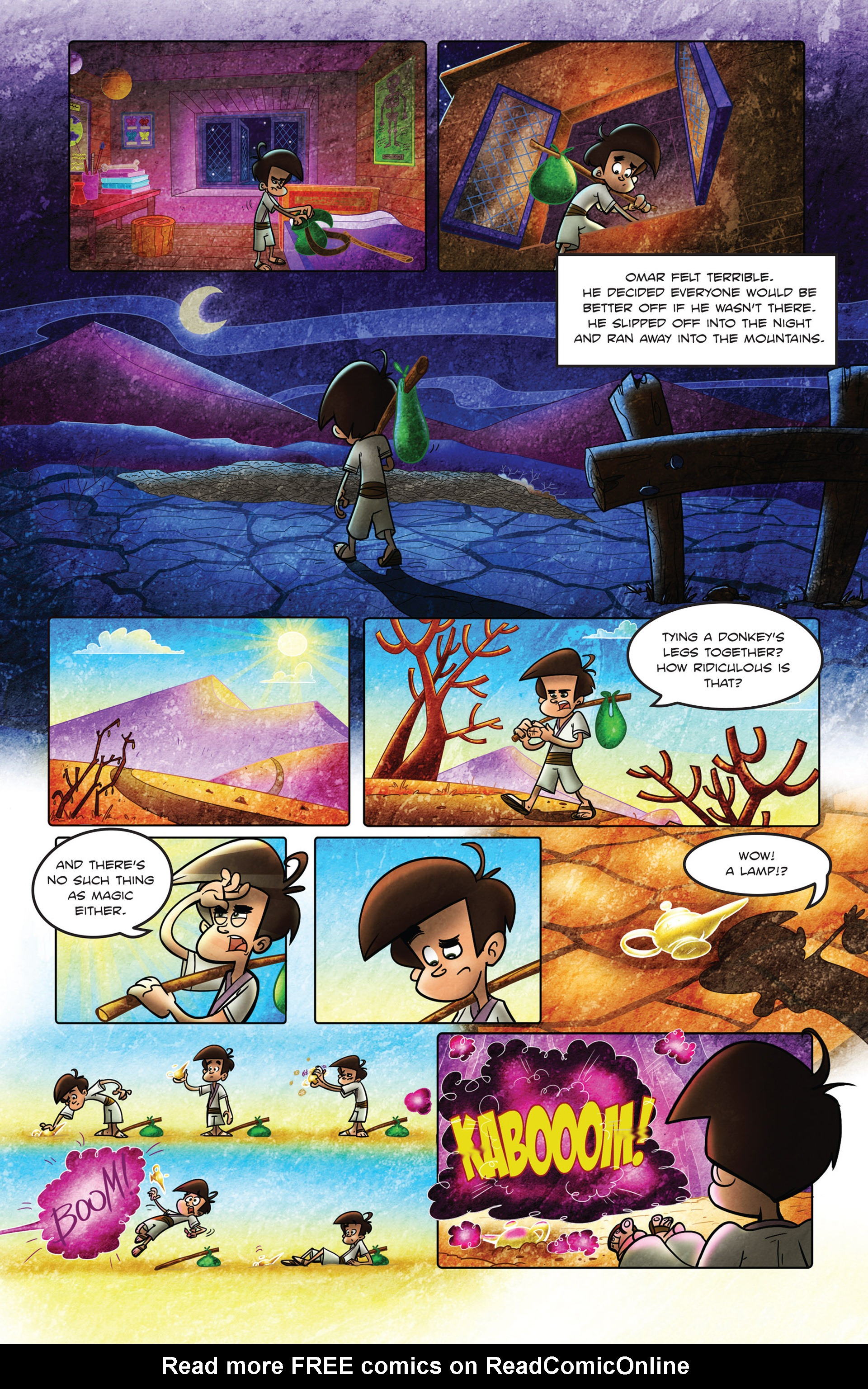Read online 1001 Nights comic -  Issue #2 - 14