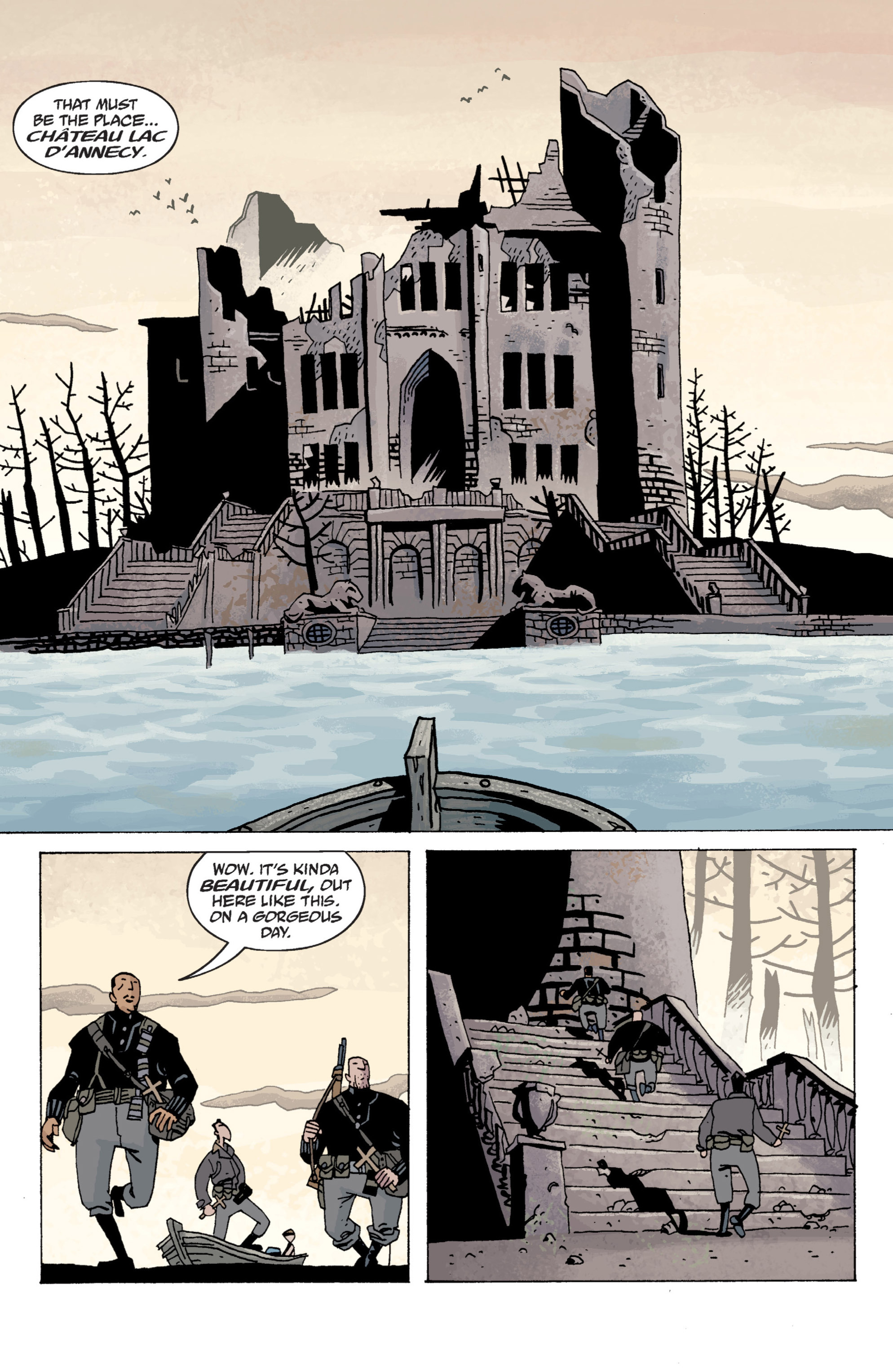 Read online B.P.R.D. (2003) comic -  Issue # TPB 13 - 53