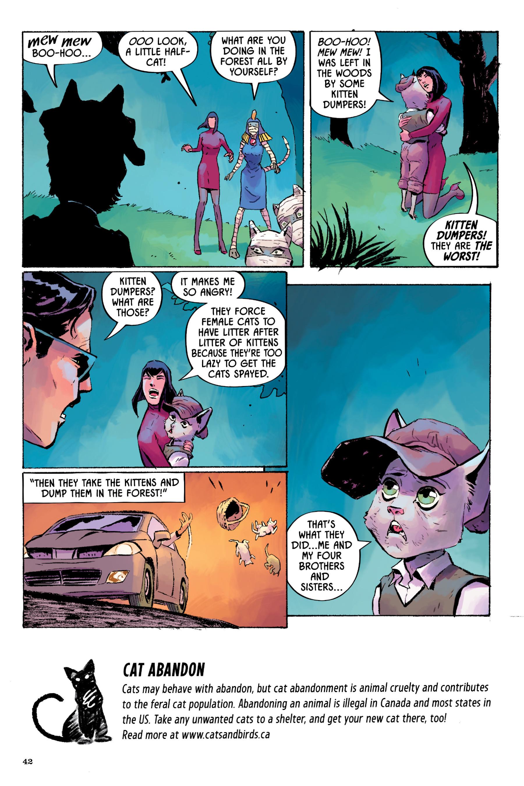 Read online Angel Catbird comic -  Issue # TPB 2 - 43